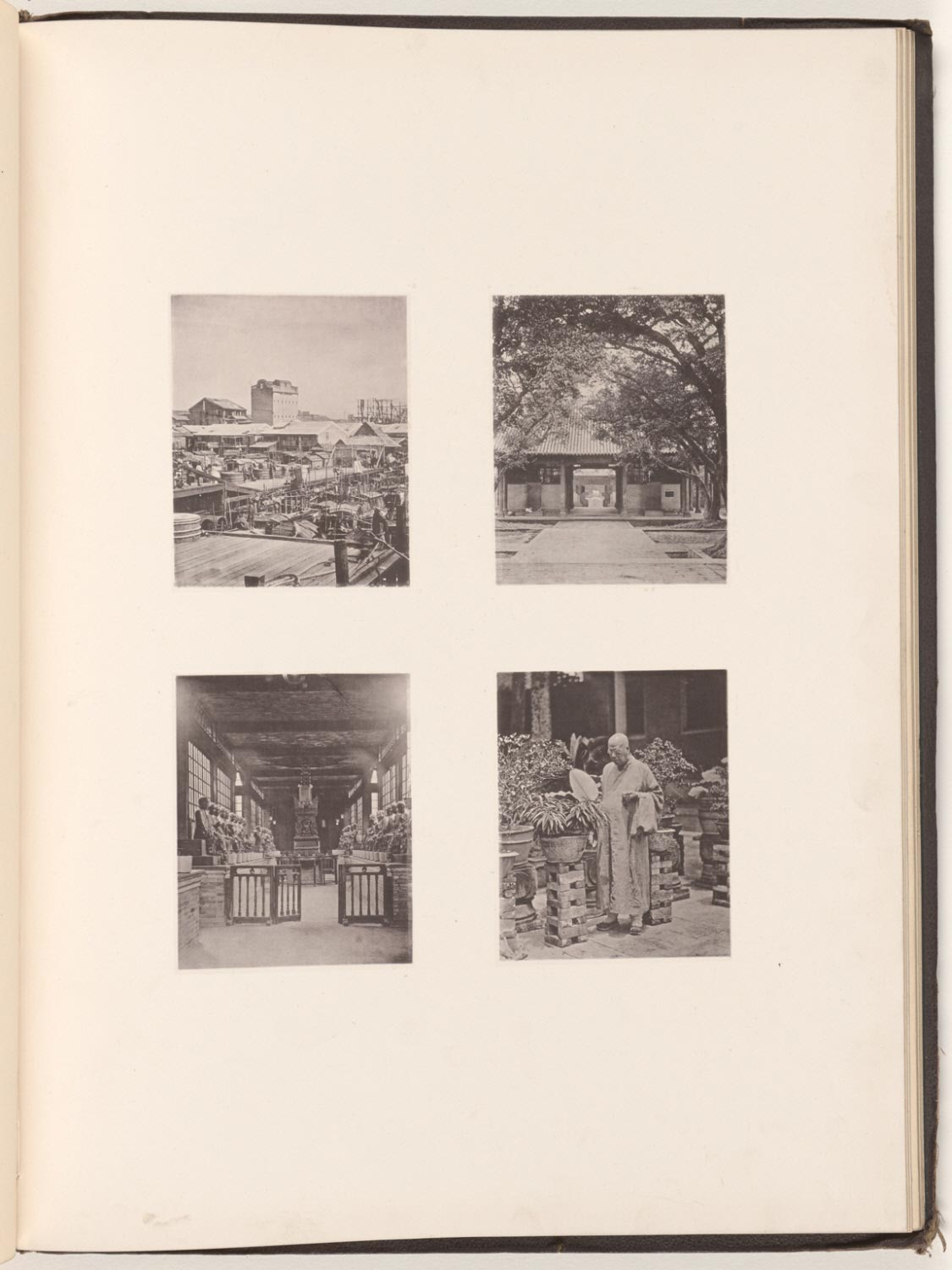 A Canton Pawn Shop; Honam Temple, Caton; Temple of Five Hundred Gods, Canton; The Abbot of the Temple