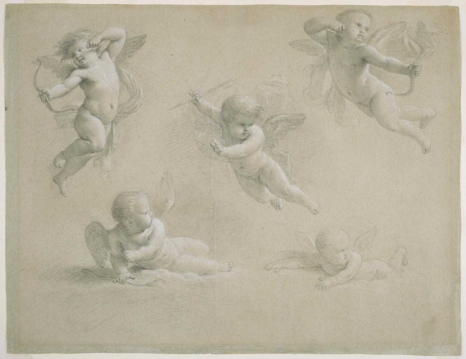 Five Putti: Studies for