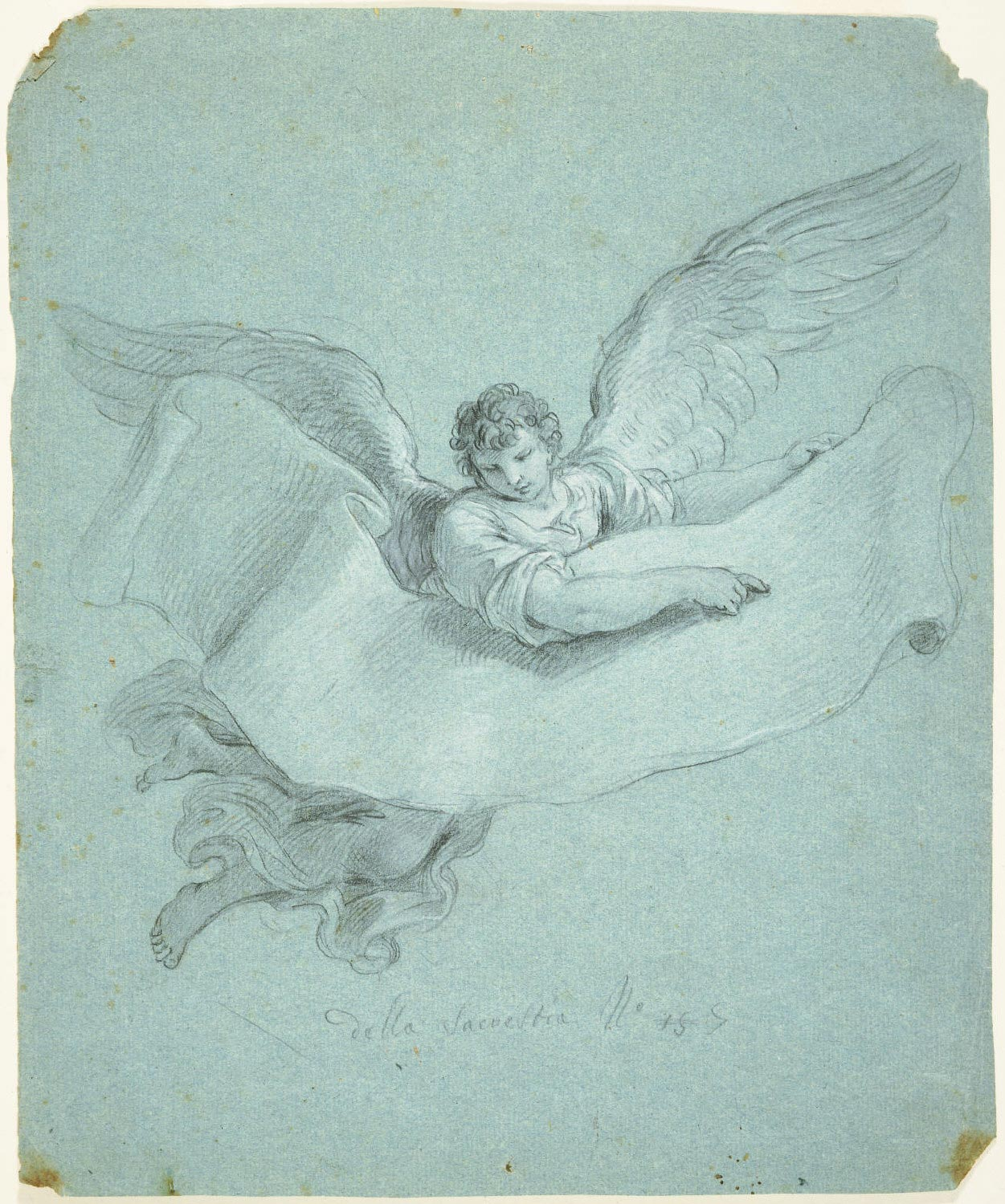 Angel Carrying a Scroll