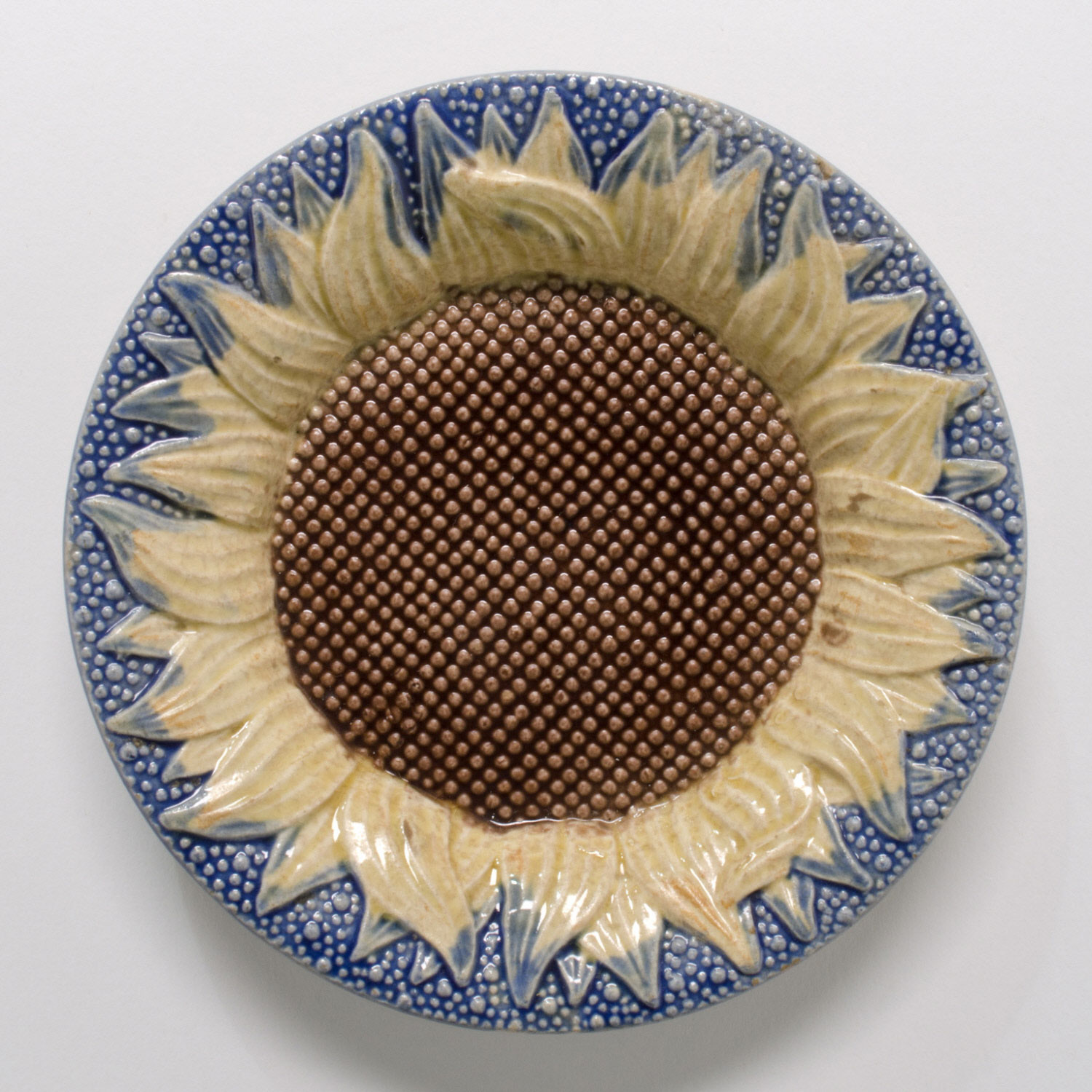 Saucer in the Form of a Sunflower