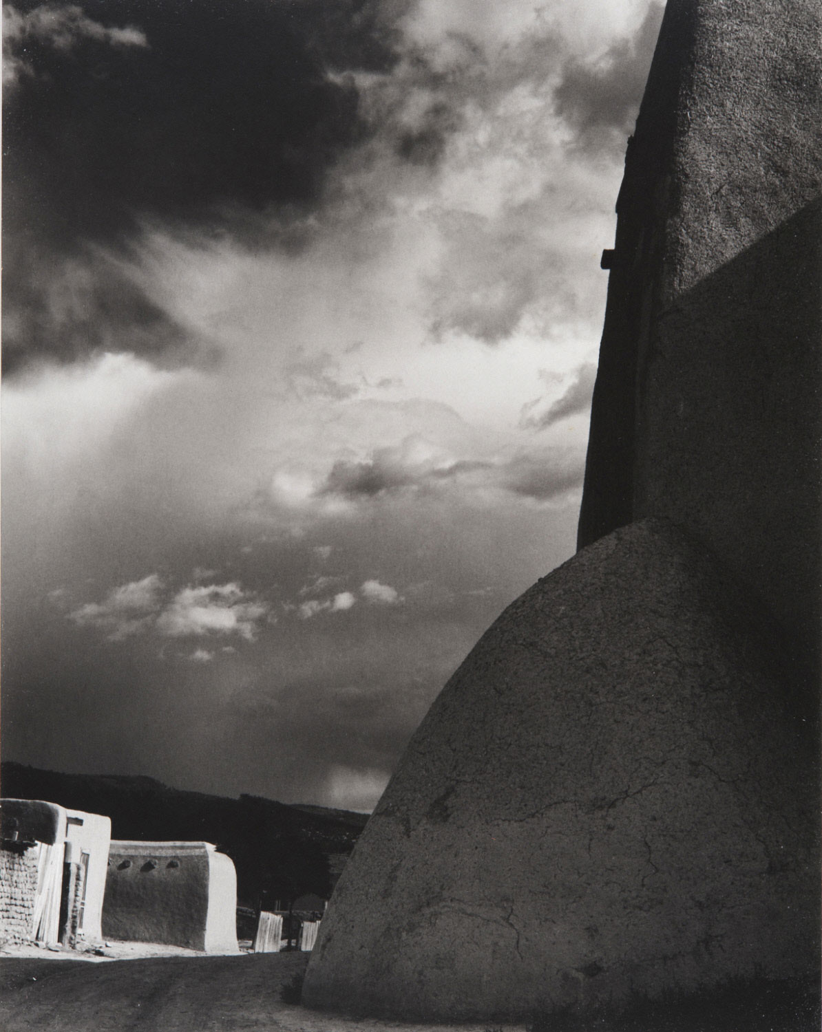 Church Buttress, Ranchos de Taos, New Mexico