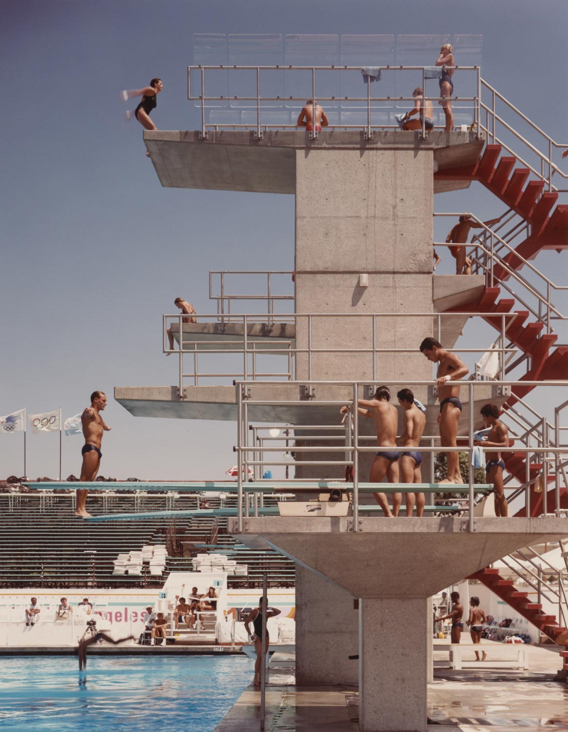 Olympic Diving Practice