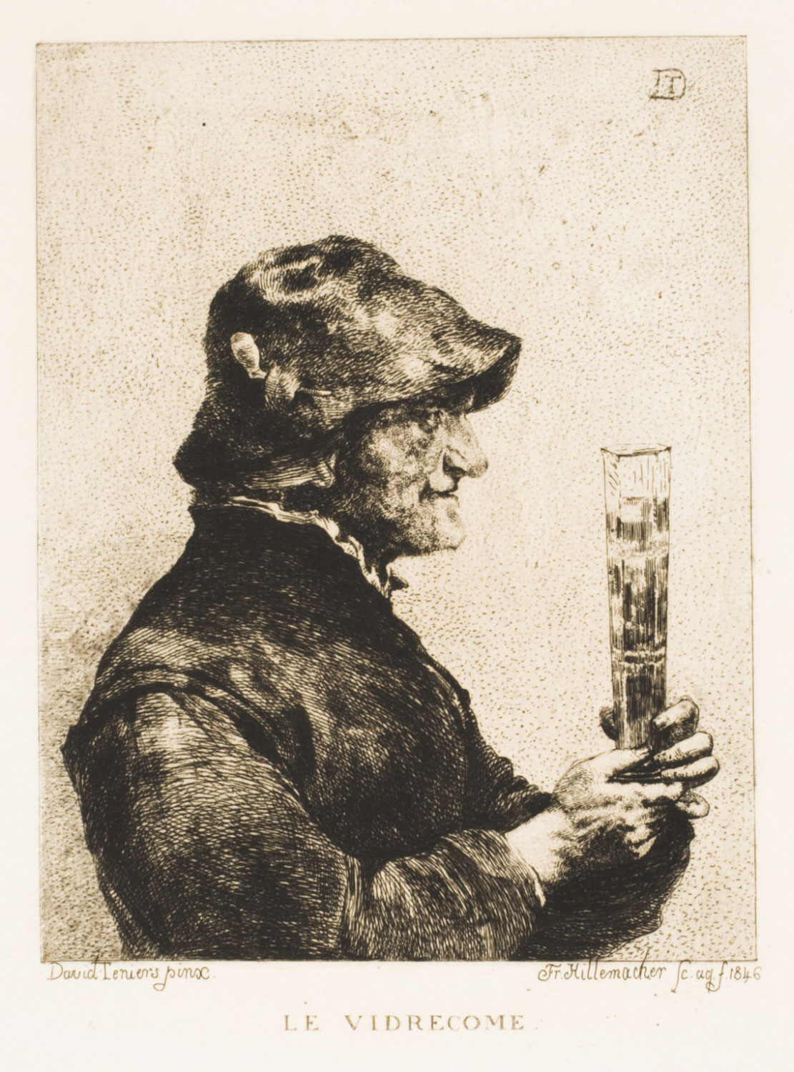 Le Vidrecome (A Peasant with a Tall Beer Glass)