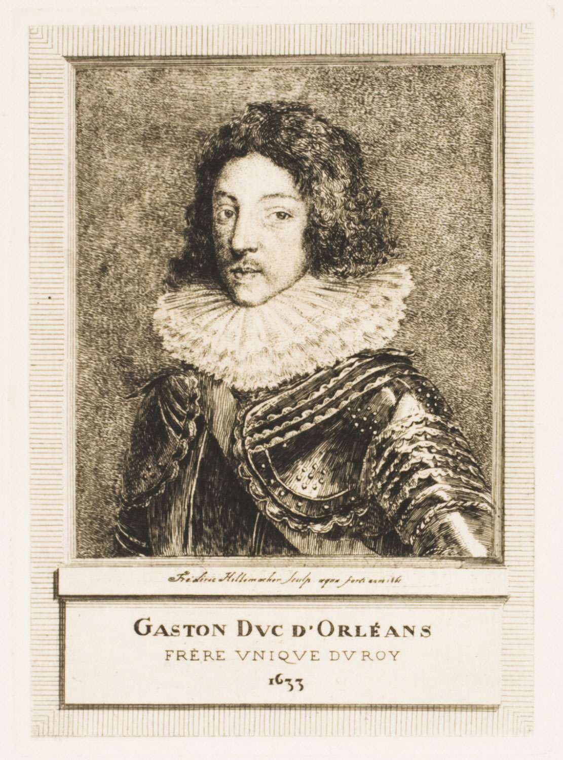 Gaston, Duc d'Orléans, the King's Only Brother, in 1633