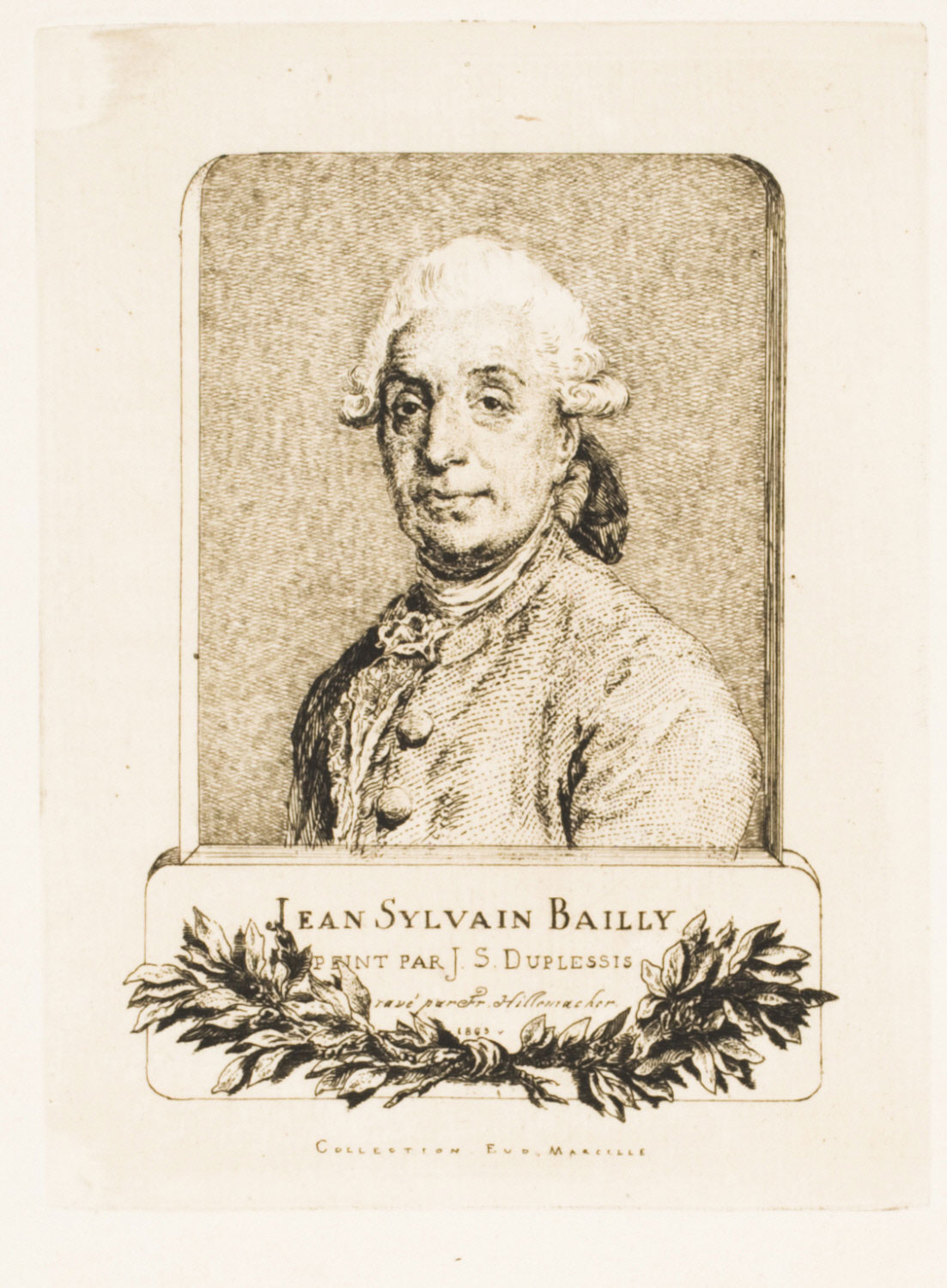 Portrait of Jean Sylvain Bailly (1736 - 1794), French Astronomer and Orator