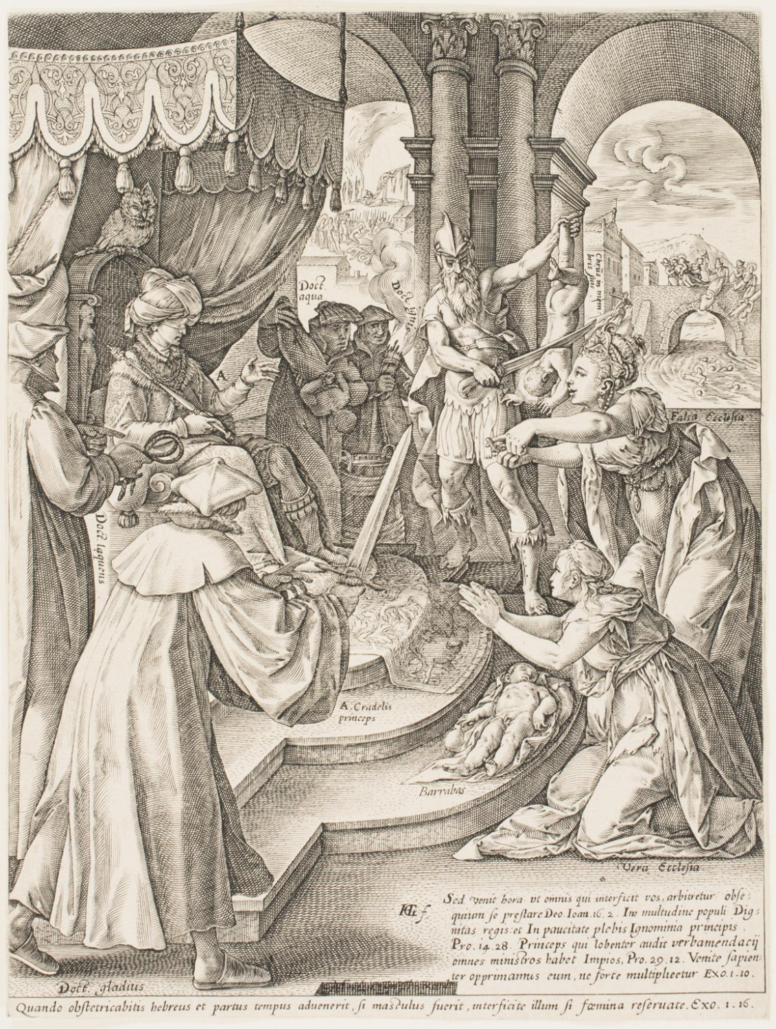 Allegory of the True and the False Church