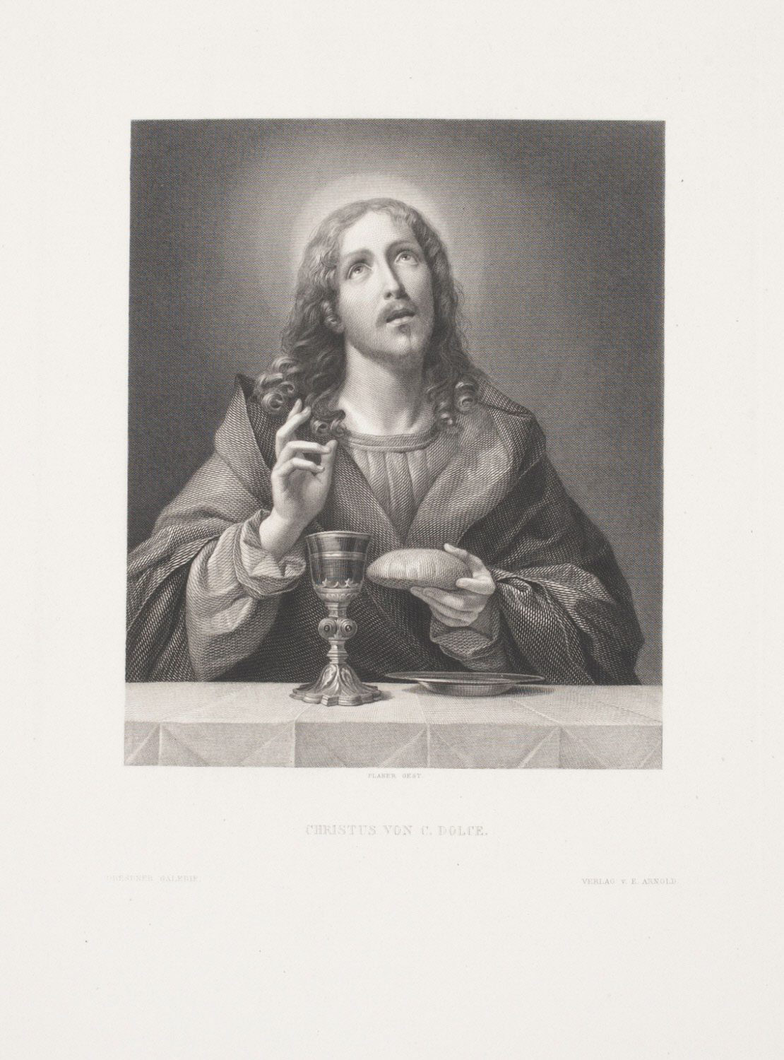 Christ Blessing the Bread