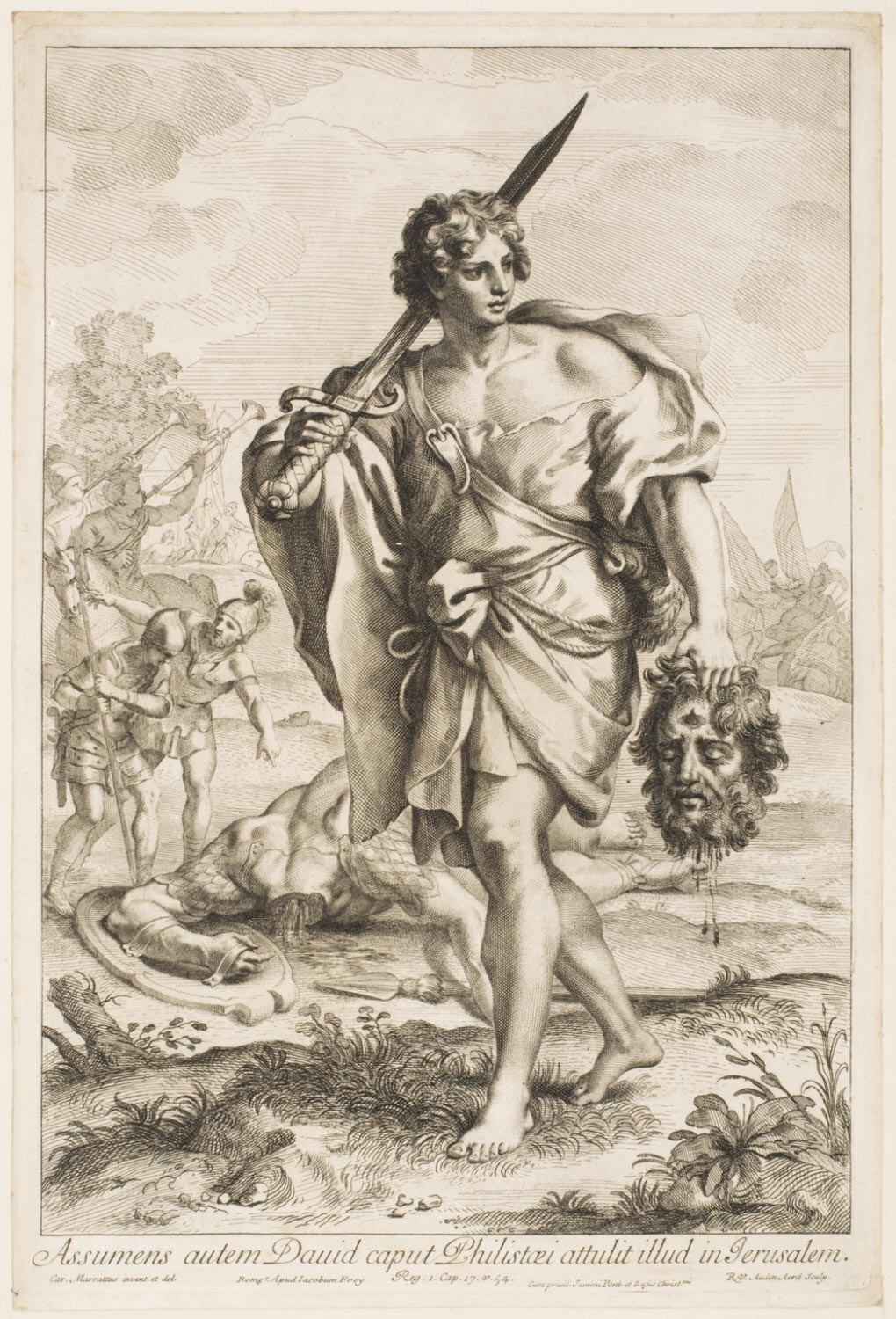 David with the Head and Sword of Goliath