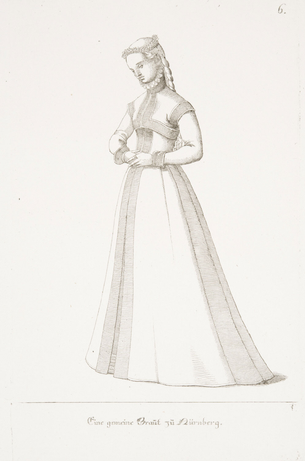 A Nuremberg Bride of the Lower Classes