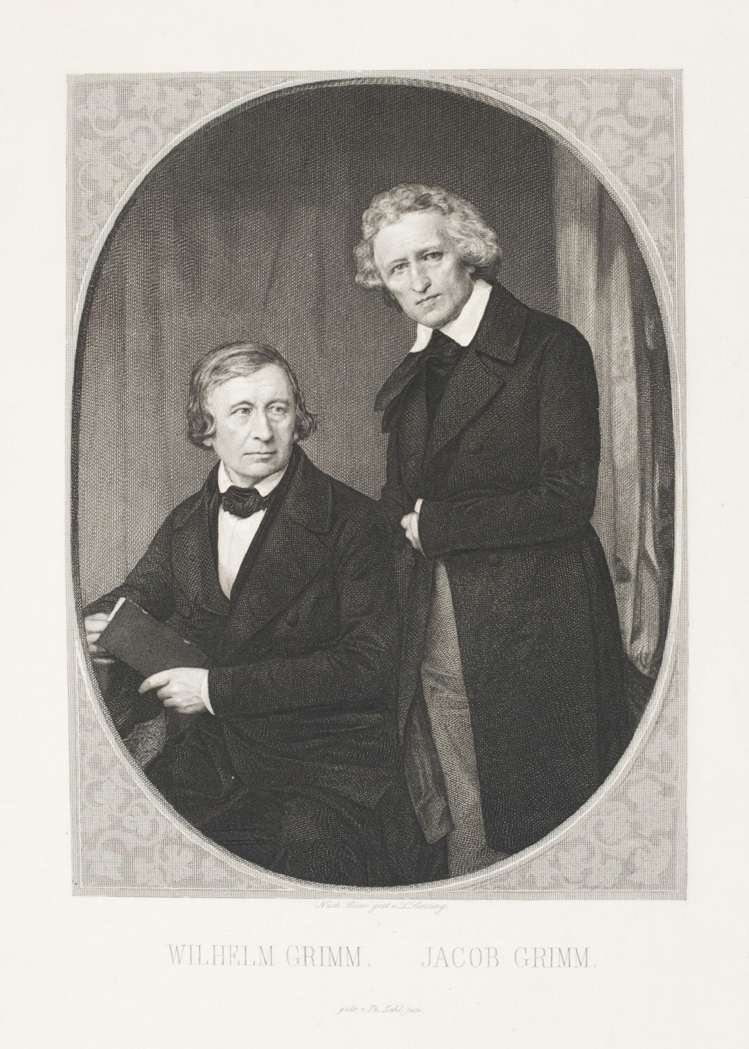 Portrait of Wilhelm and Jacob Grimm (The Brothers Grimm)