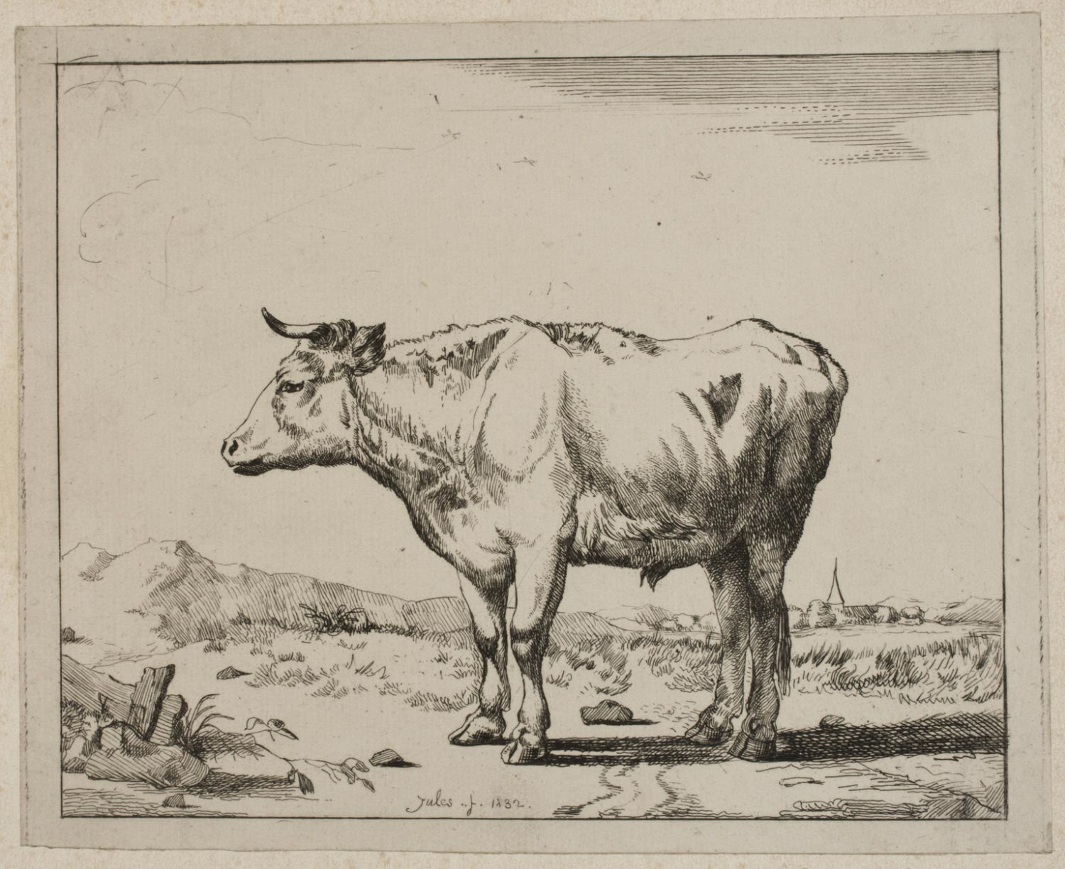 Bull in a Landscape