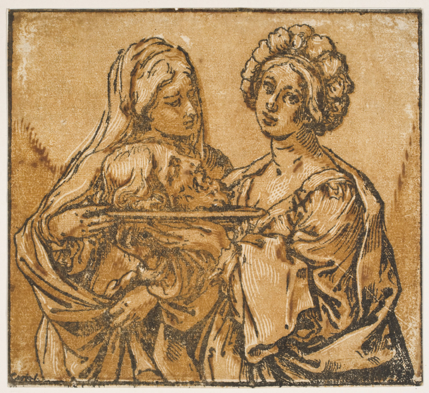 Herodias and Salome with the Head of John the Baptist
