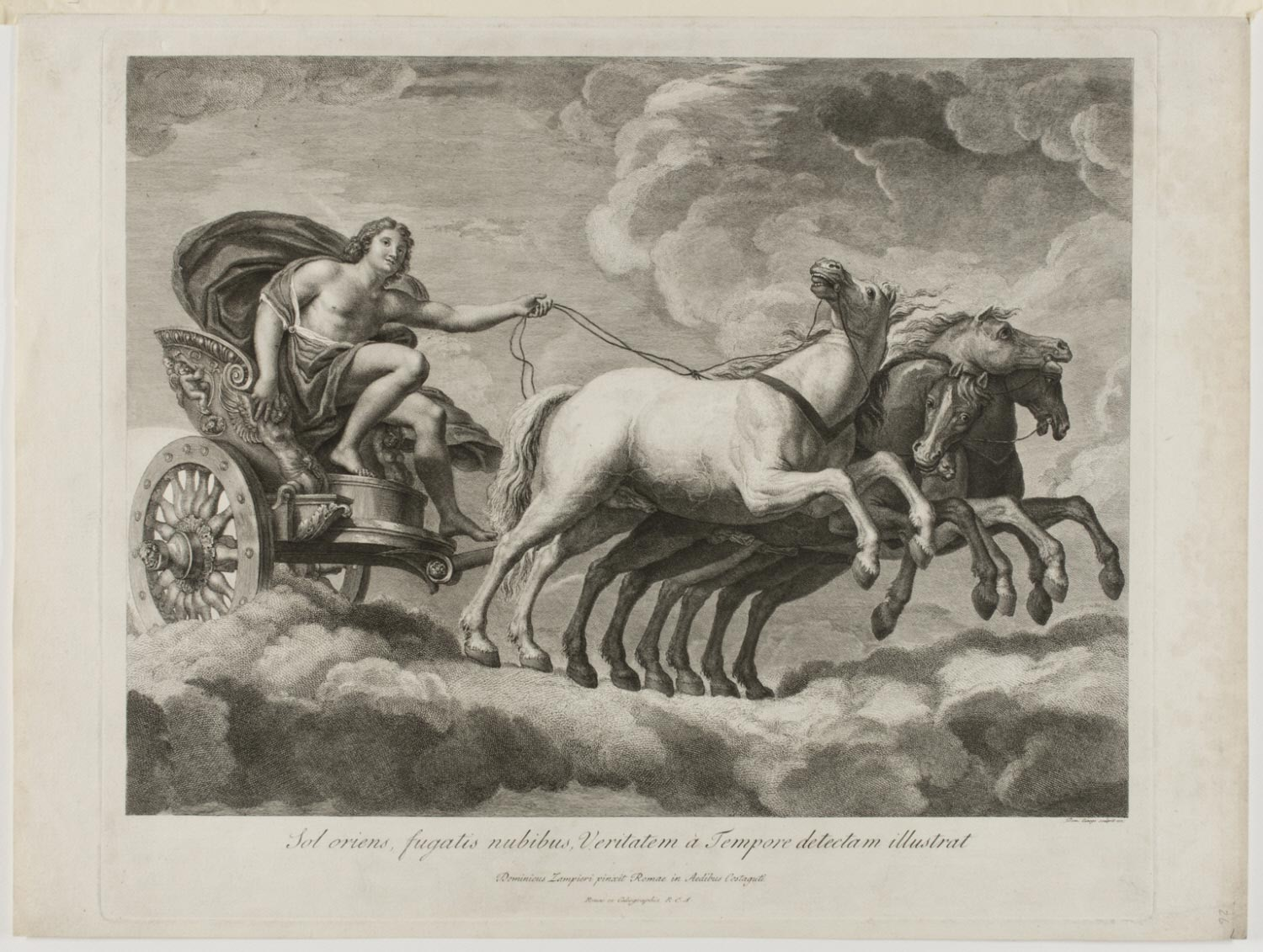 Apollo Driving the Chariot of the Sun