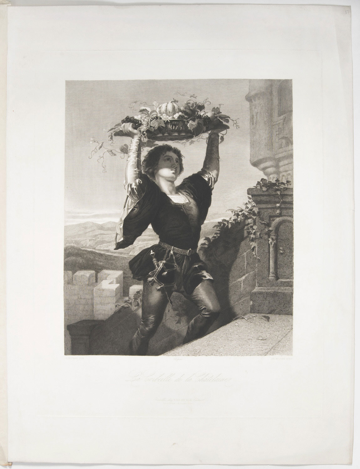 A Basket of Fruit for the Mistress of the Château