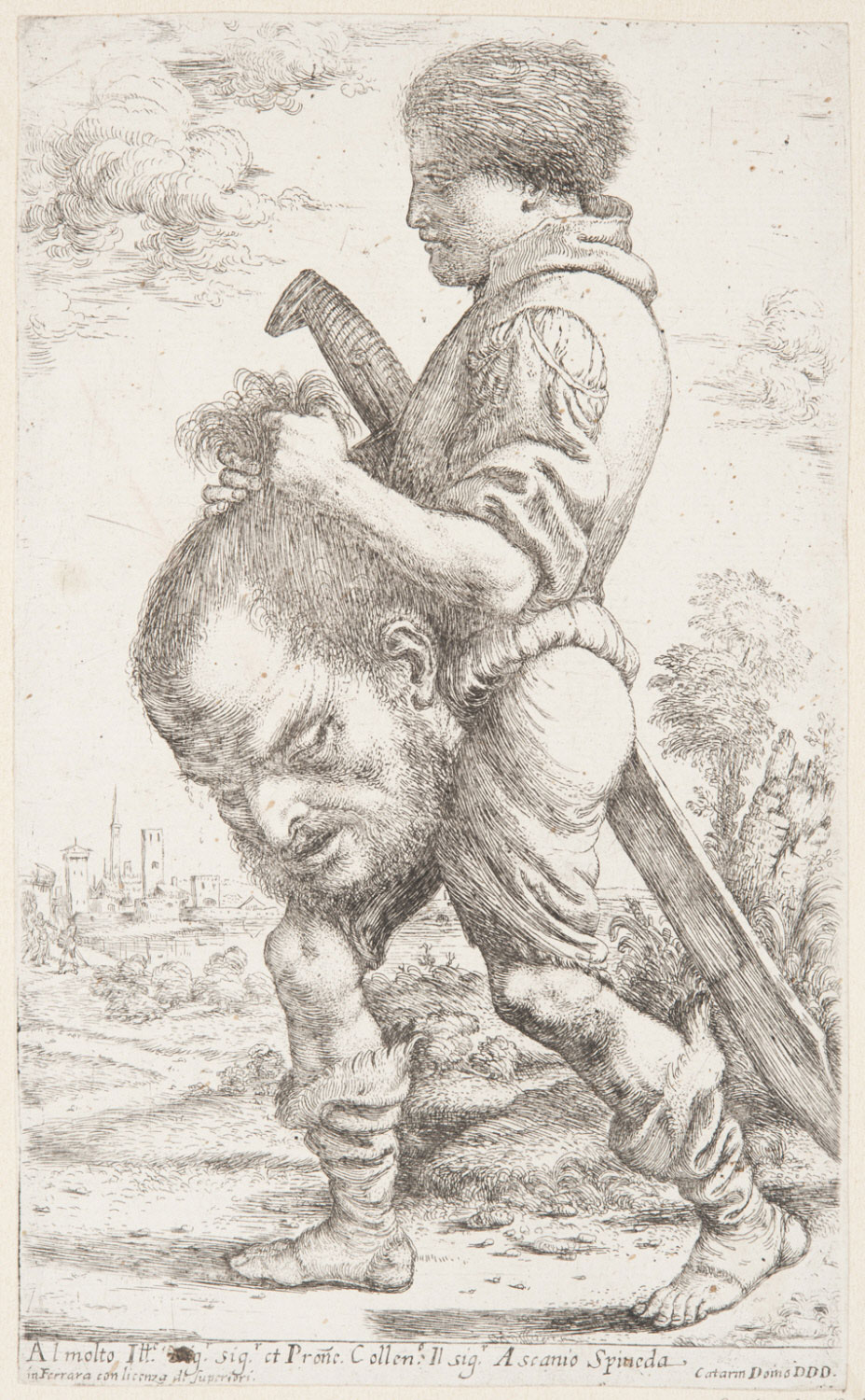 David Carrying the Head of Goliath