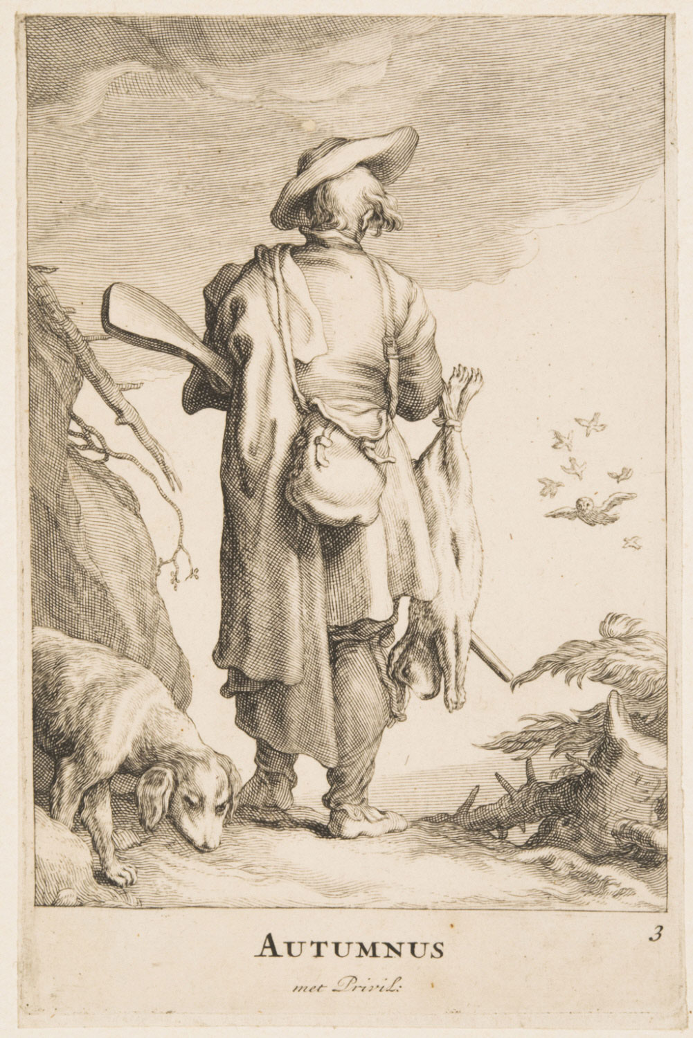 Autumn (A Hunter with a Dog and a Dead Rabbit)