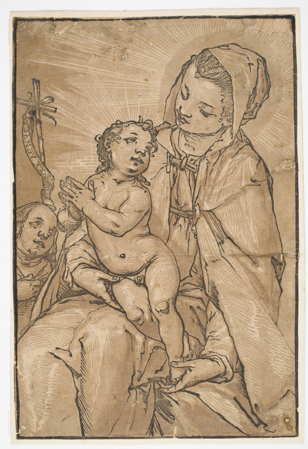 Madonna and Child with Young St. John
