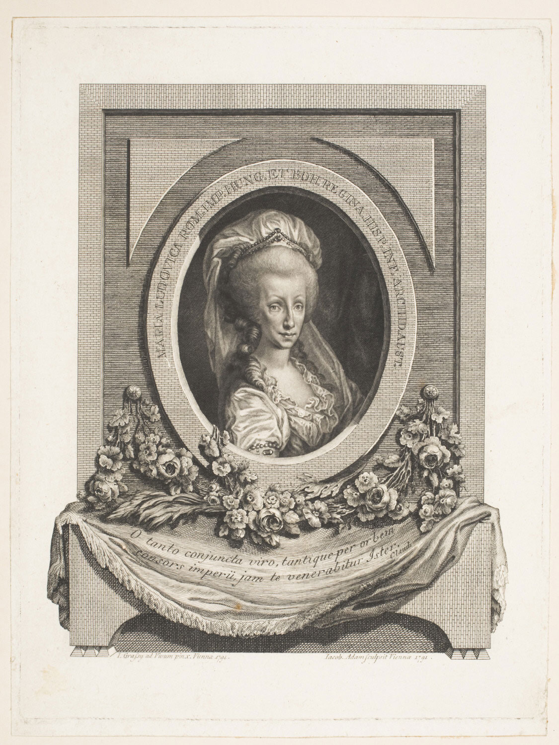 Portrait of Holy Roman Empress Maria Louise