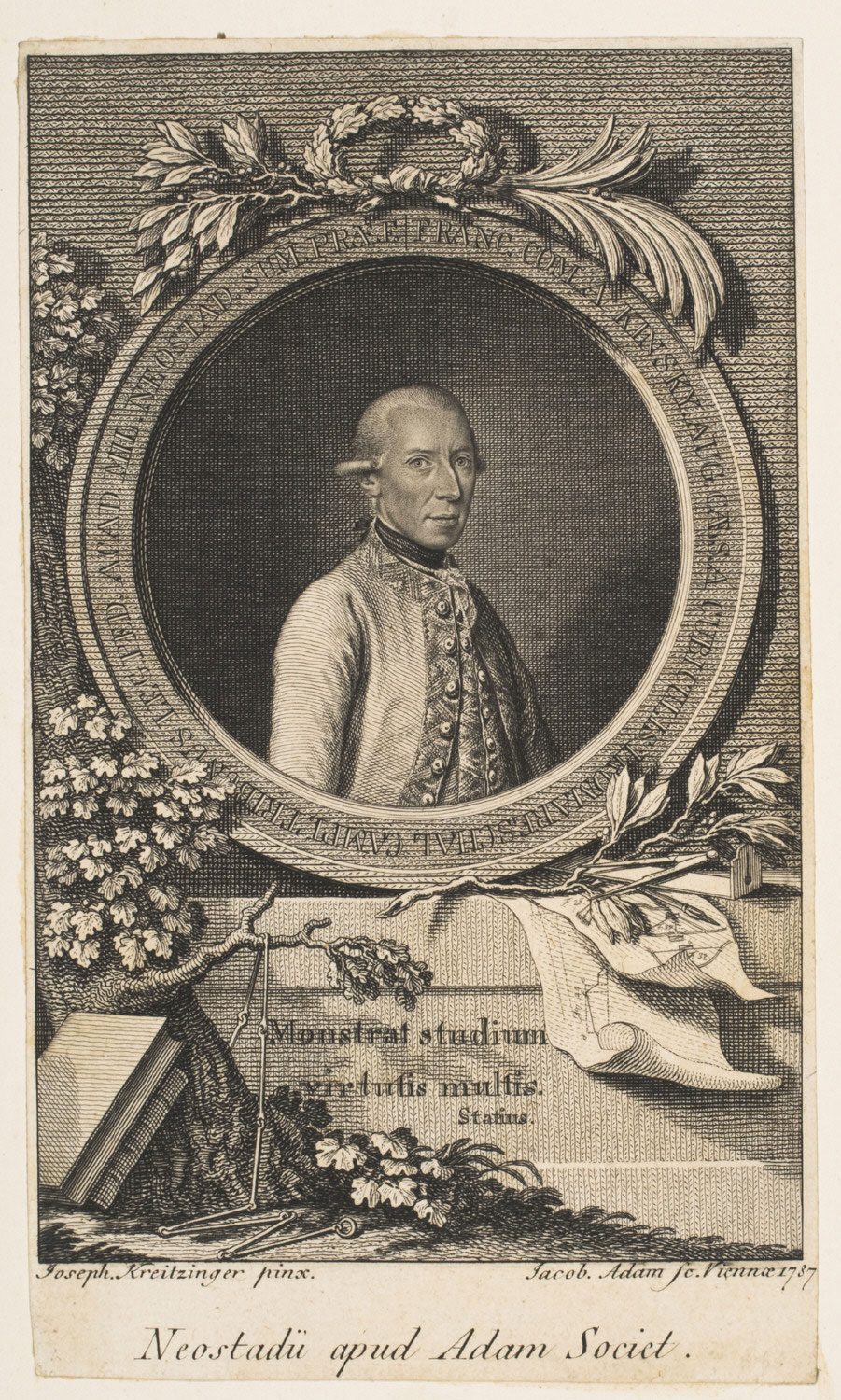 Portrait of General Frans Joseph, Count Kinsky
