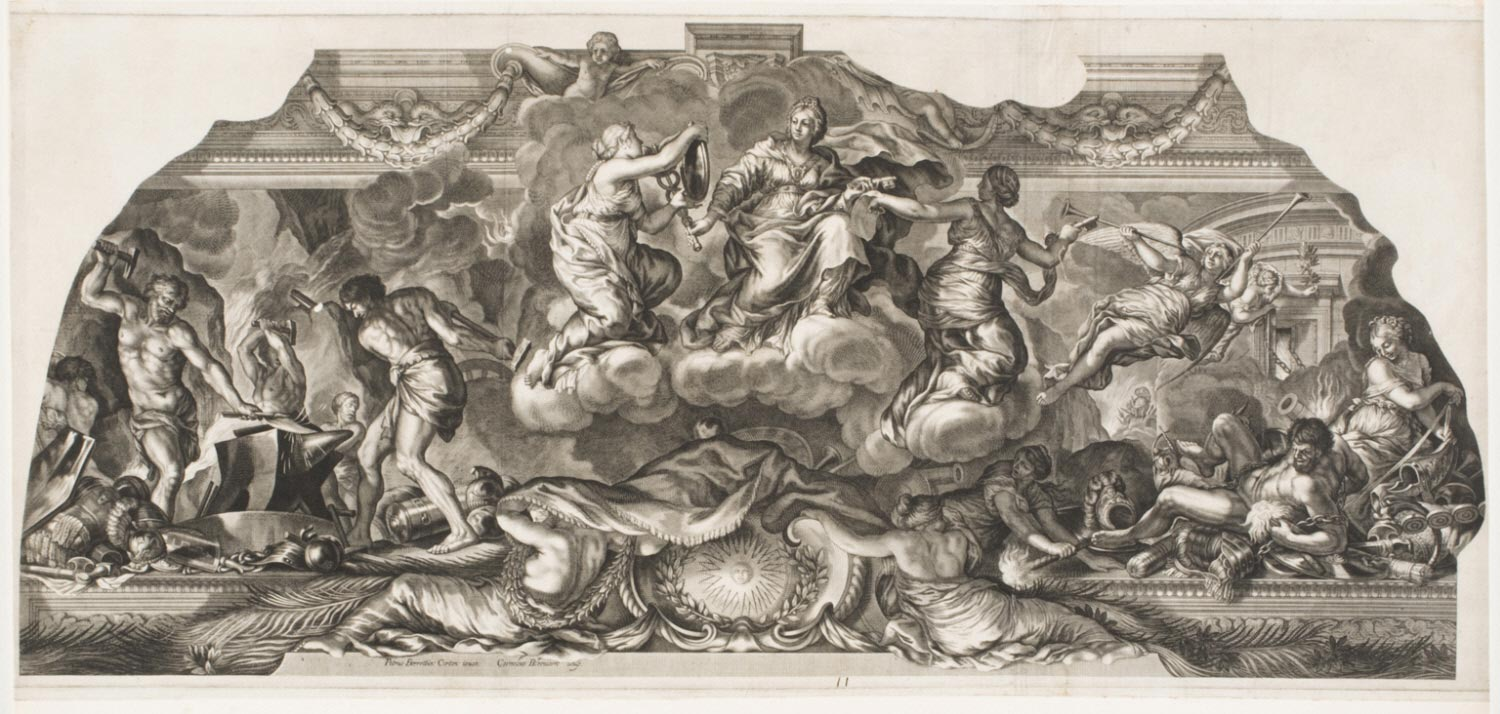 A Woman Representing Supreme Power.... from the Allegory of the Glory of the Barberini Family