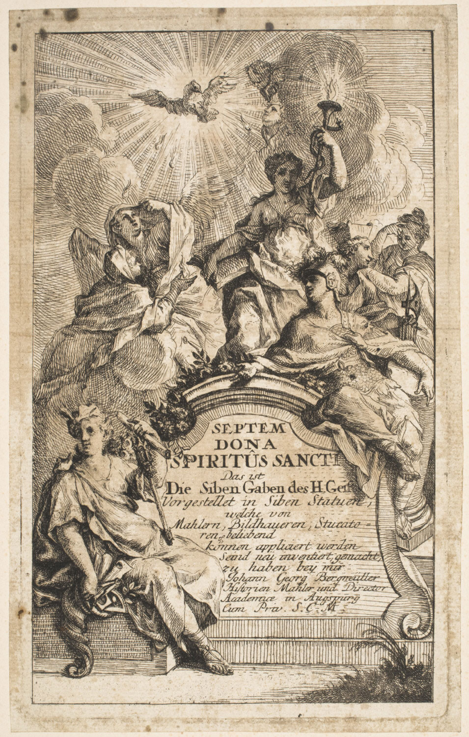 Seven Gifts of the Holy Spirit: Title Page