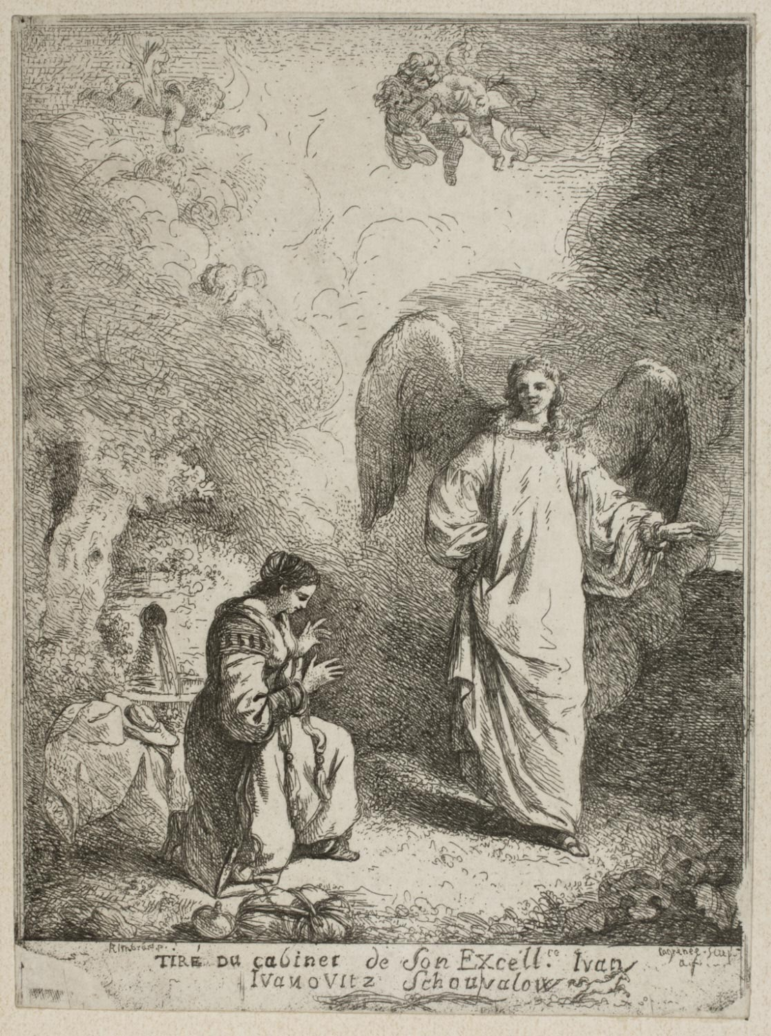 Apparition of an Angel to a Saint