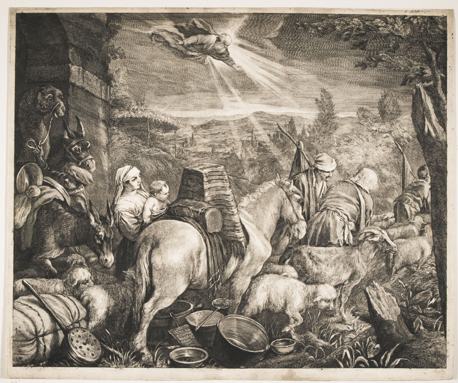 Abraham Leaving the Country of Haran