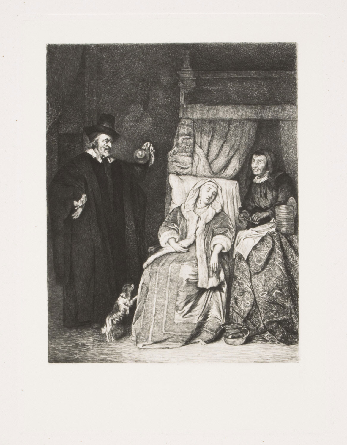 Woman with a Doctor