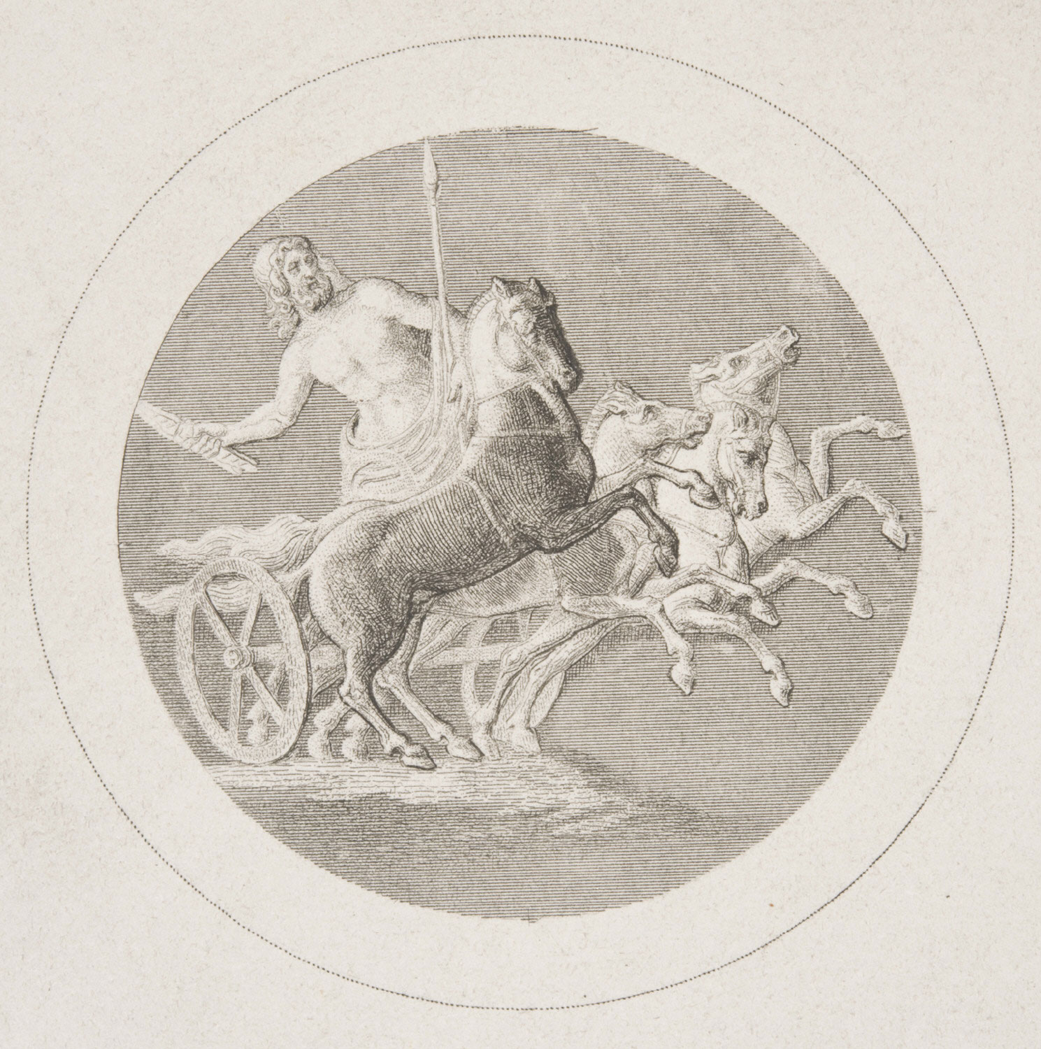Chariot with Zeus Hurling a Thunderbolt