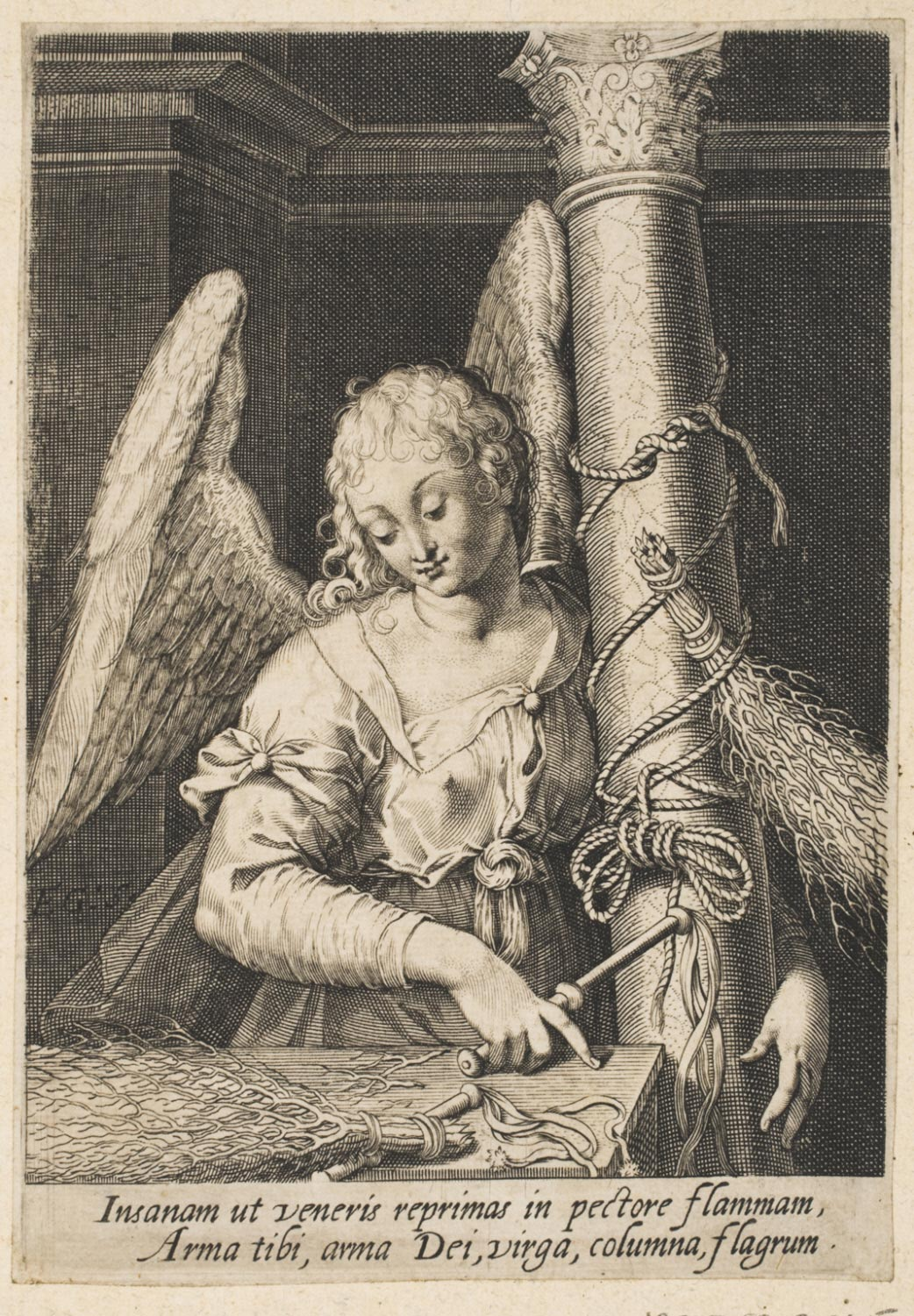 Angel with the Column and Scourges