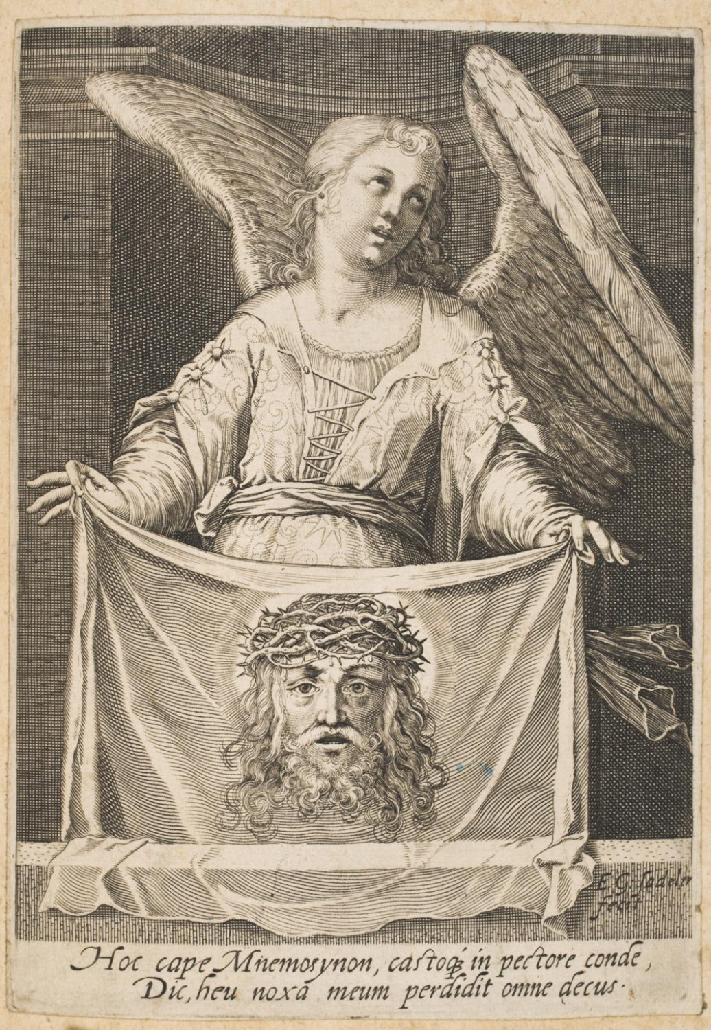 Angel with Veronica's Veil