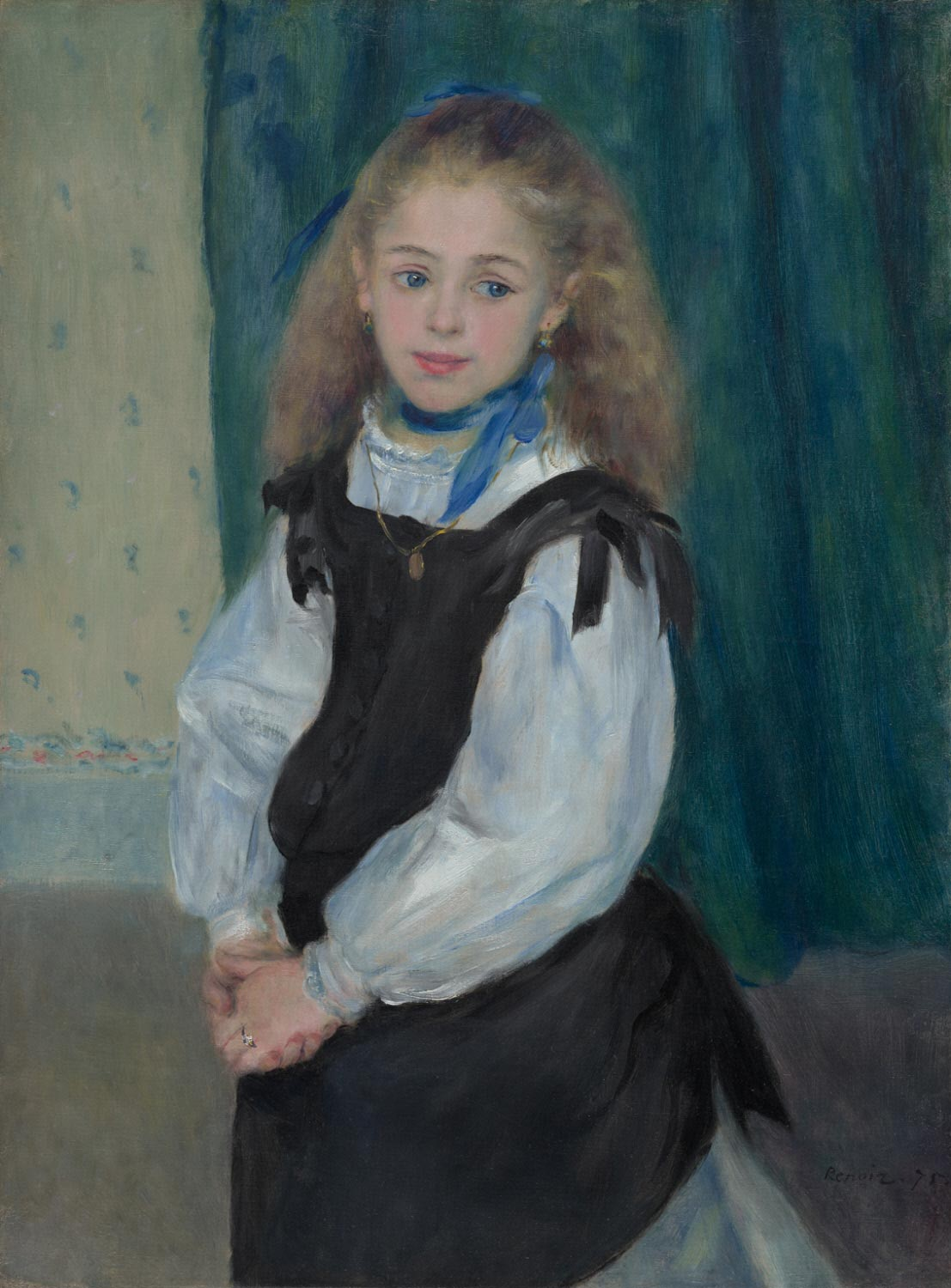 Portrait of Mademoiselle Legrand