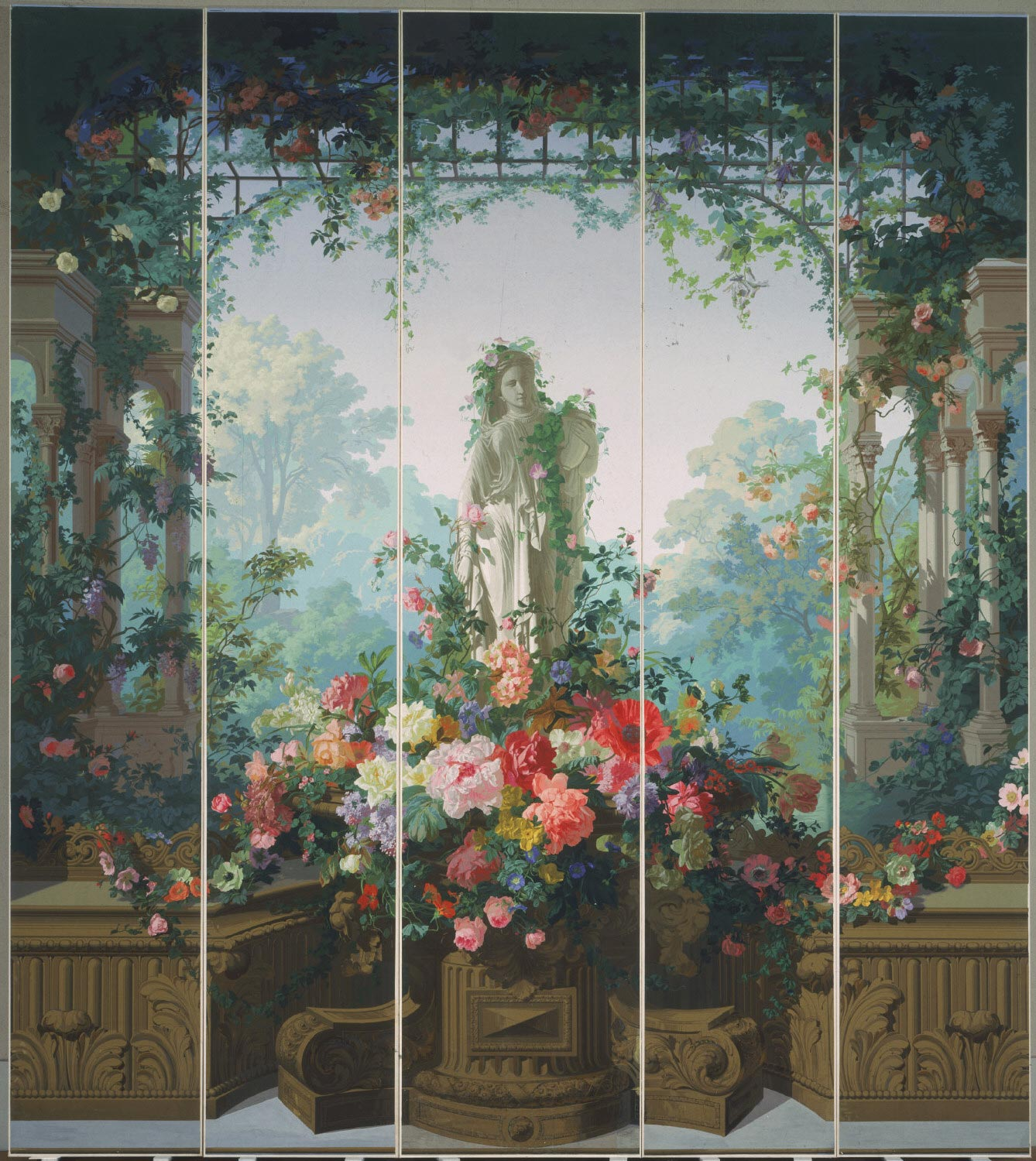 Garden of Armida Wallpaper