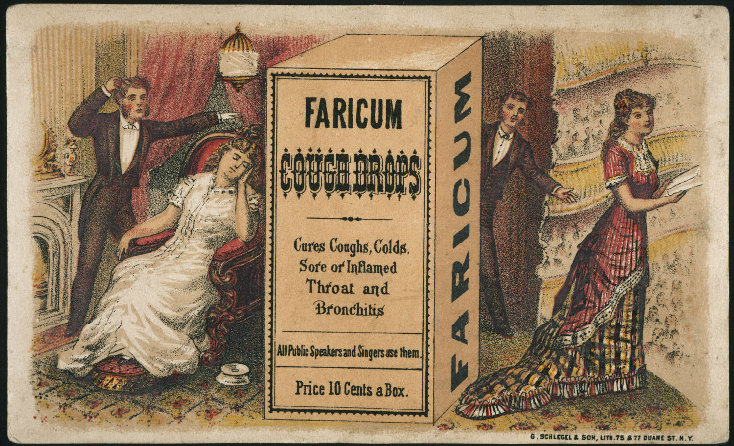 Faricum Cough Drops - All Public Speakers and Actors Use Them