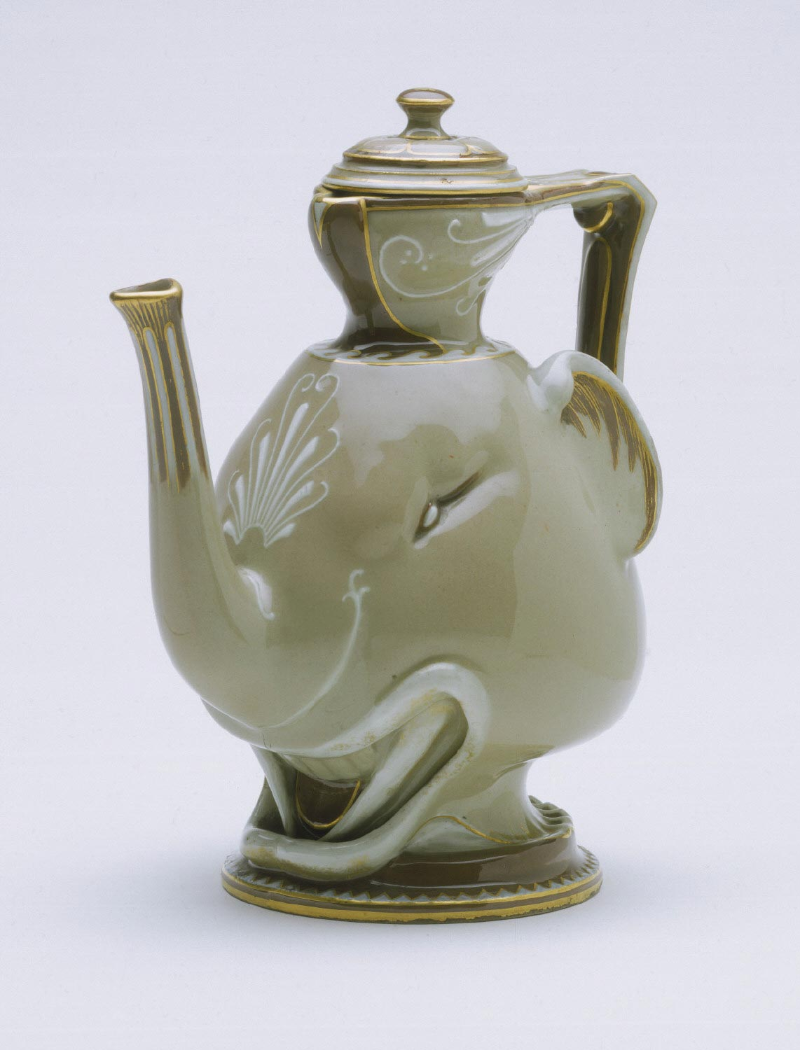 Coffeepot in the Form of an Elephant's Head