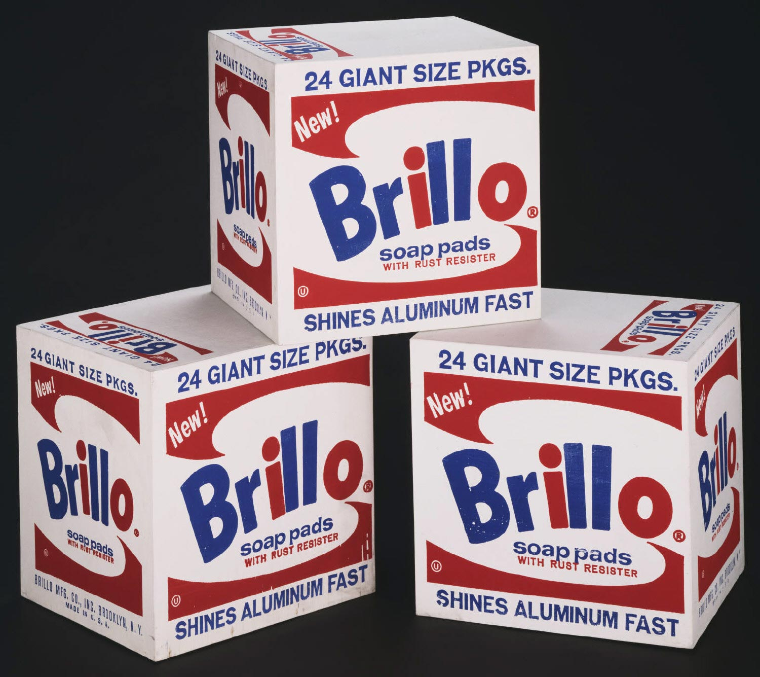Warhol's Brillo Boxes