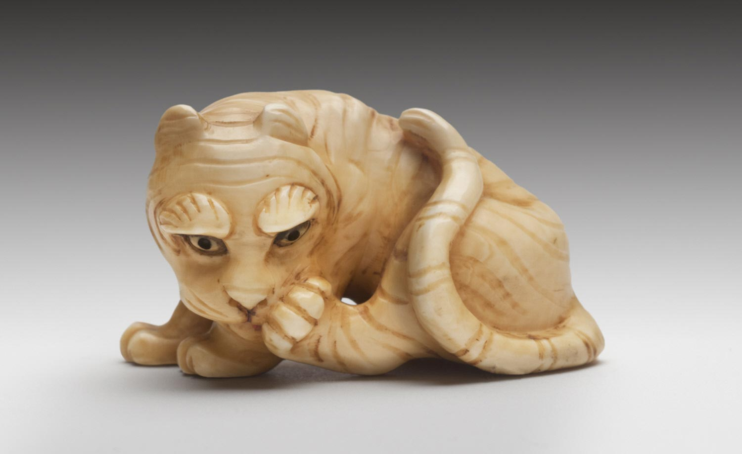 Netsuke in the Form of a Tiger