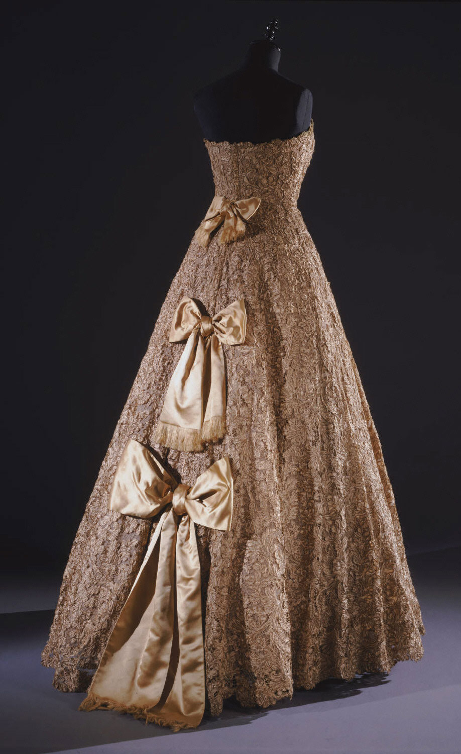 Woman's Ball Gown and Petticoat