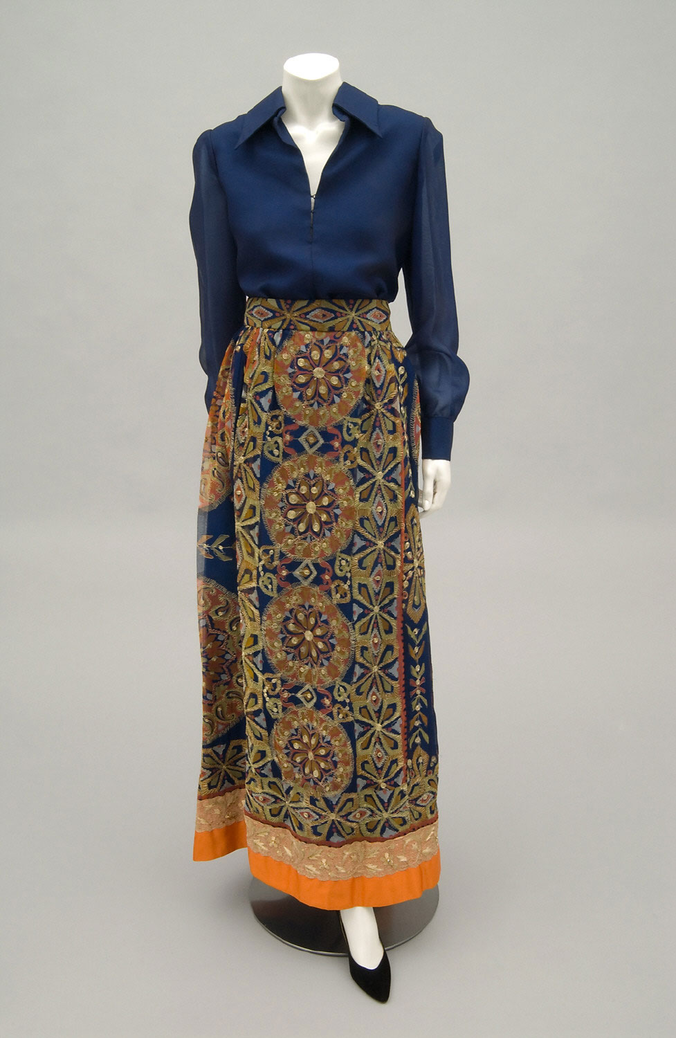 Woman's Ensemble: Blouse and Skirt
