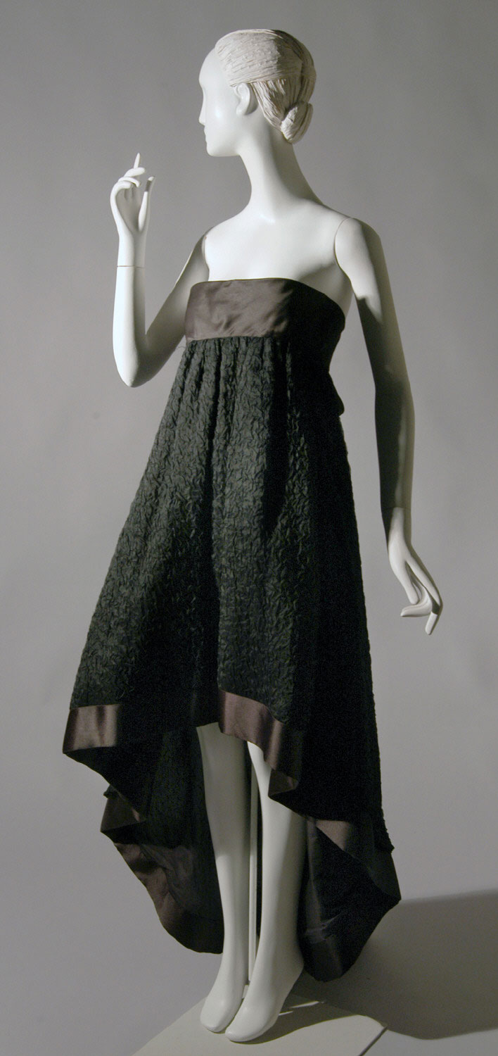 Woman's Strapless Gown