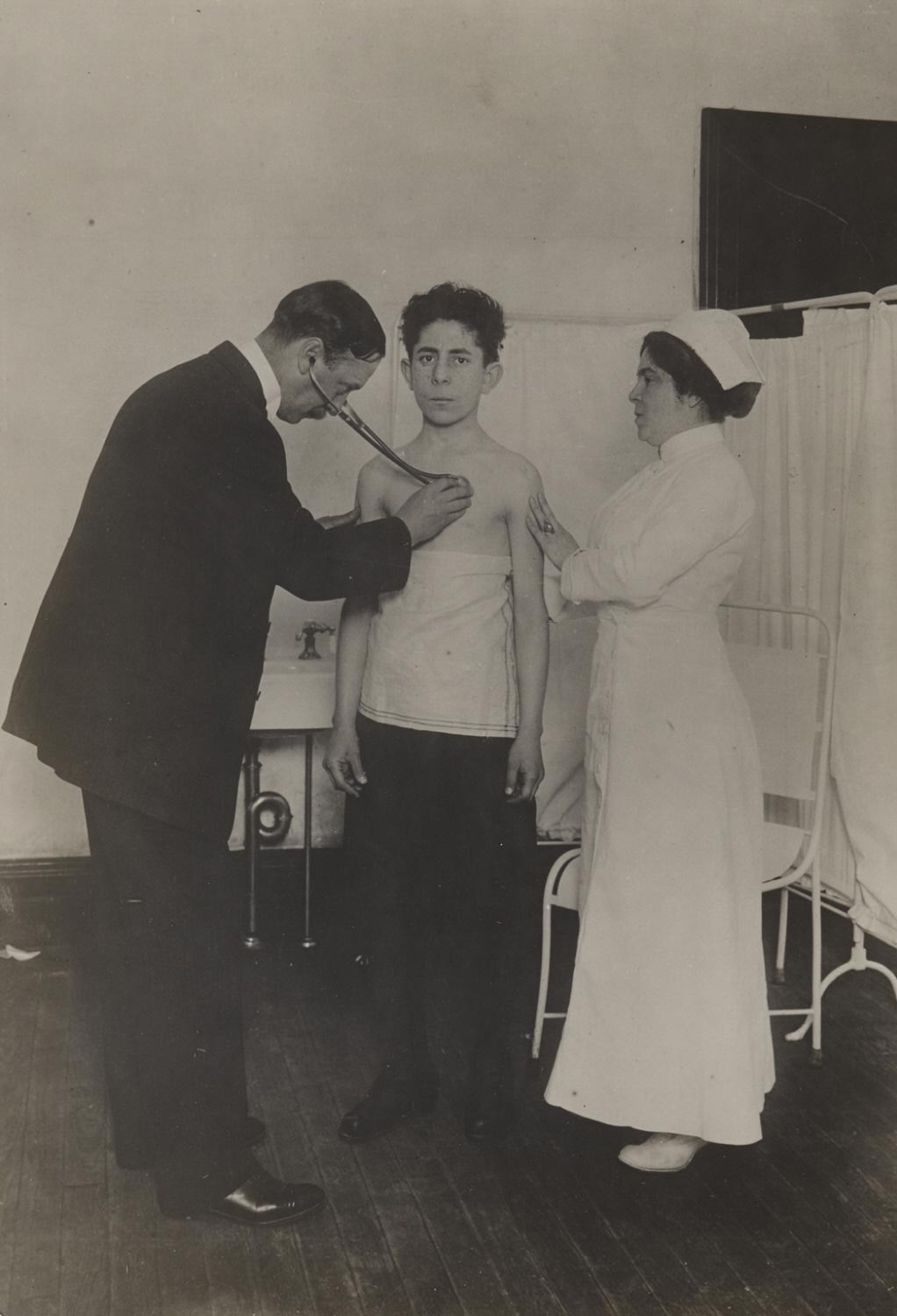 Board of Health Examination of Applicant for Working Papers to See that He is Physically Able to Work