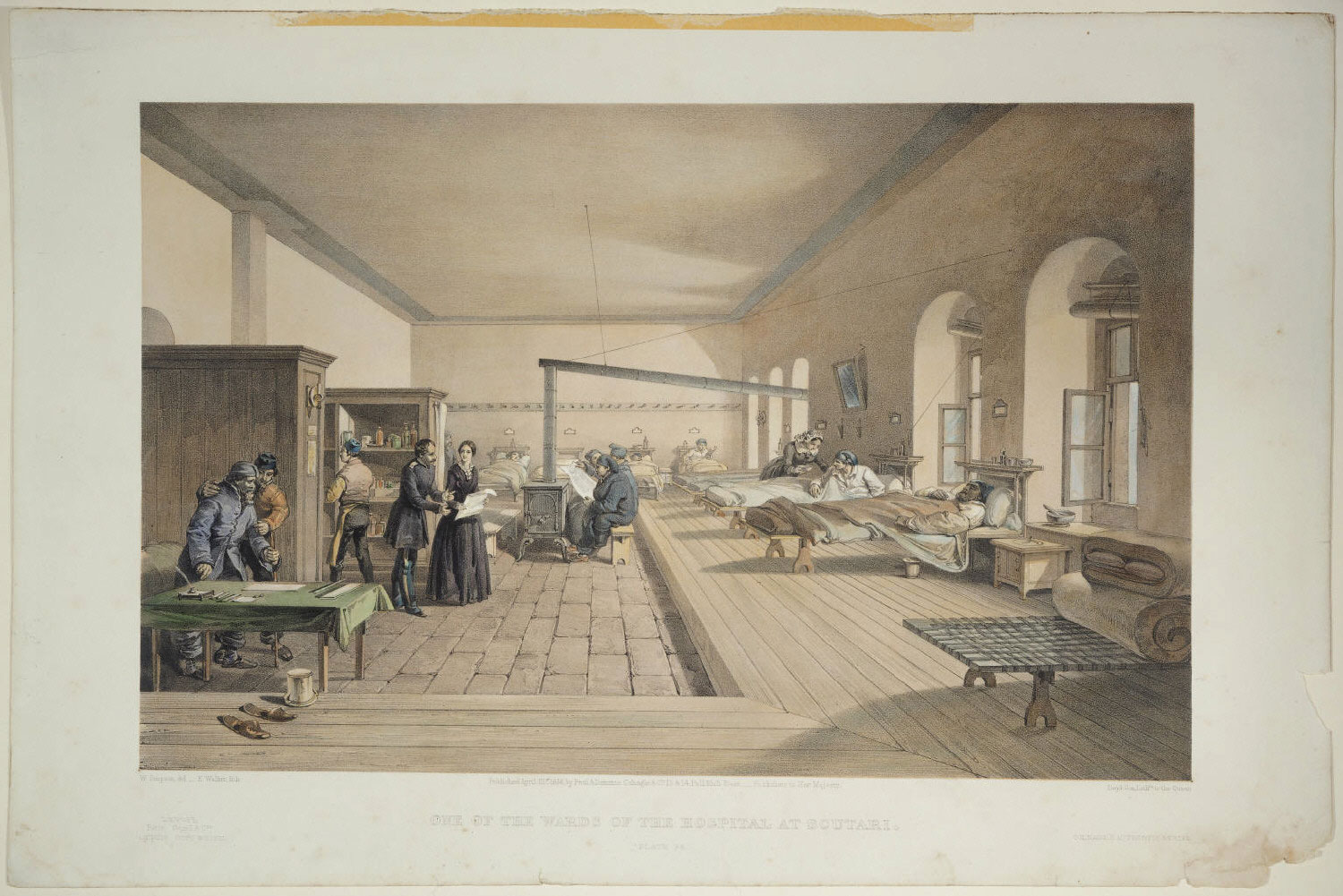 One of the Wards of the Hospital at Scutari