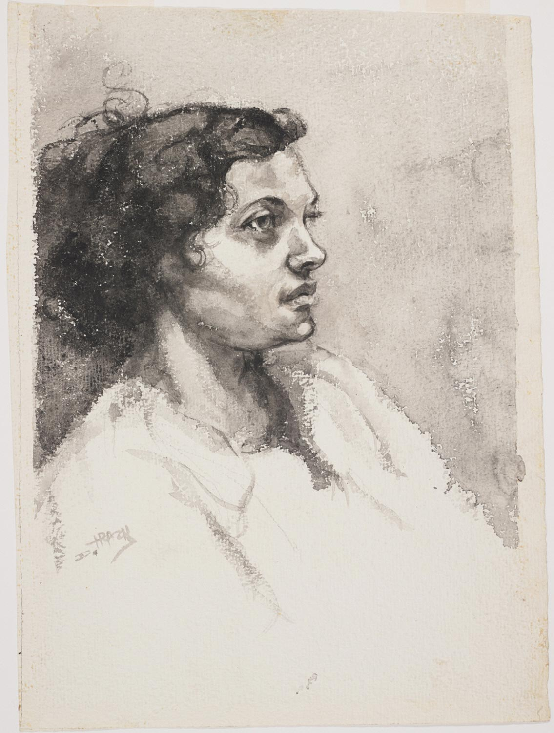 Octoroon (Study for a Lithograph)