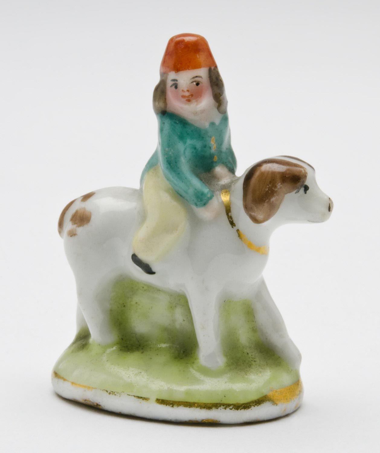 Figure of Boy with Dog