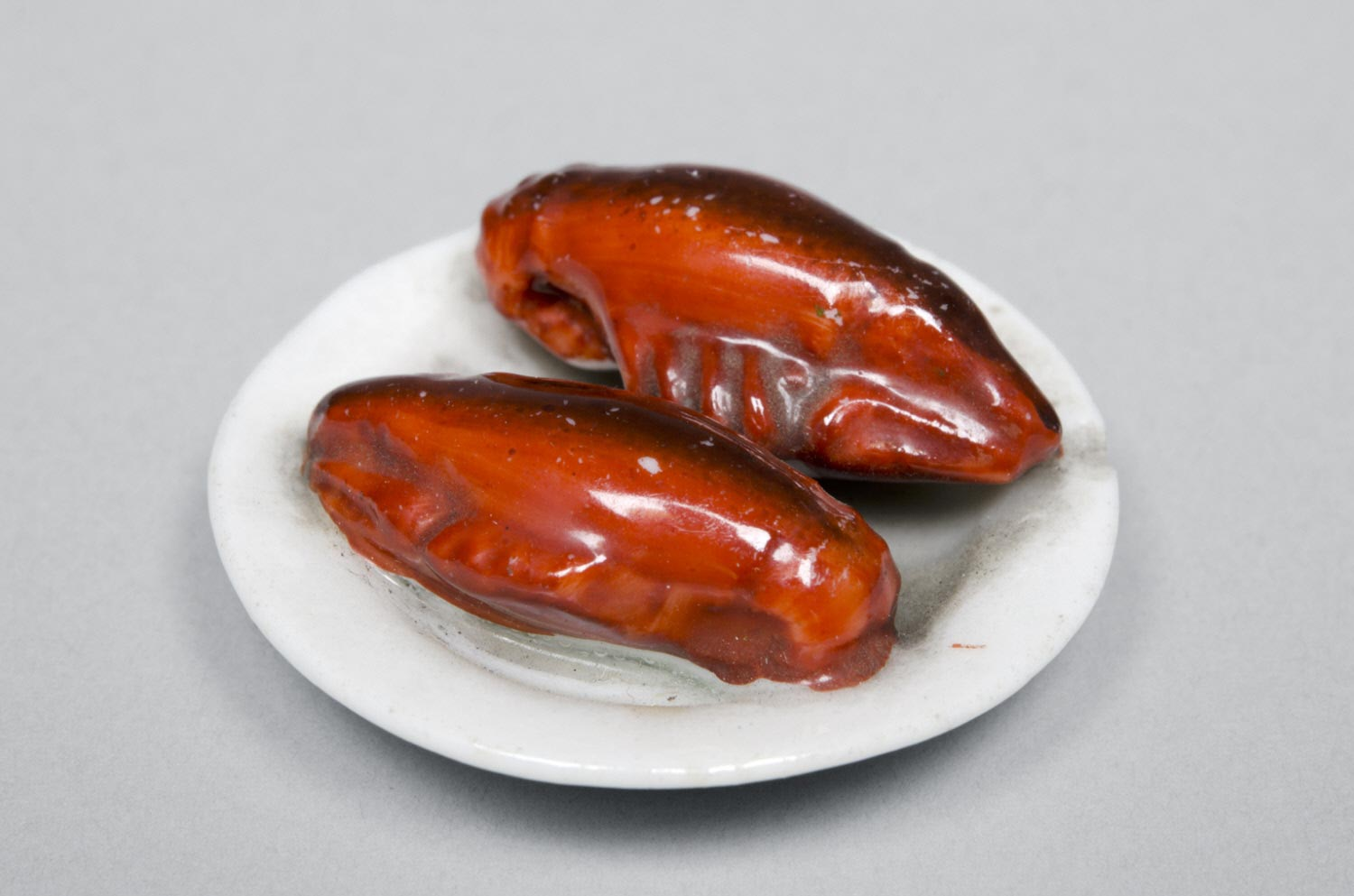 Ceramic Plate with Lobsters