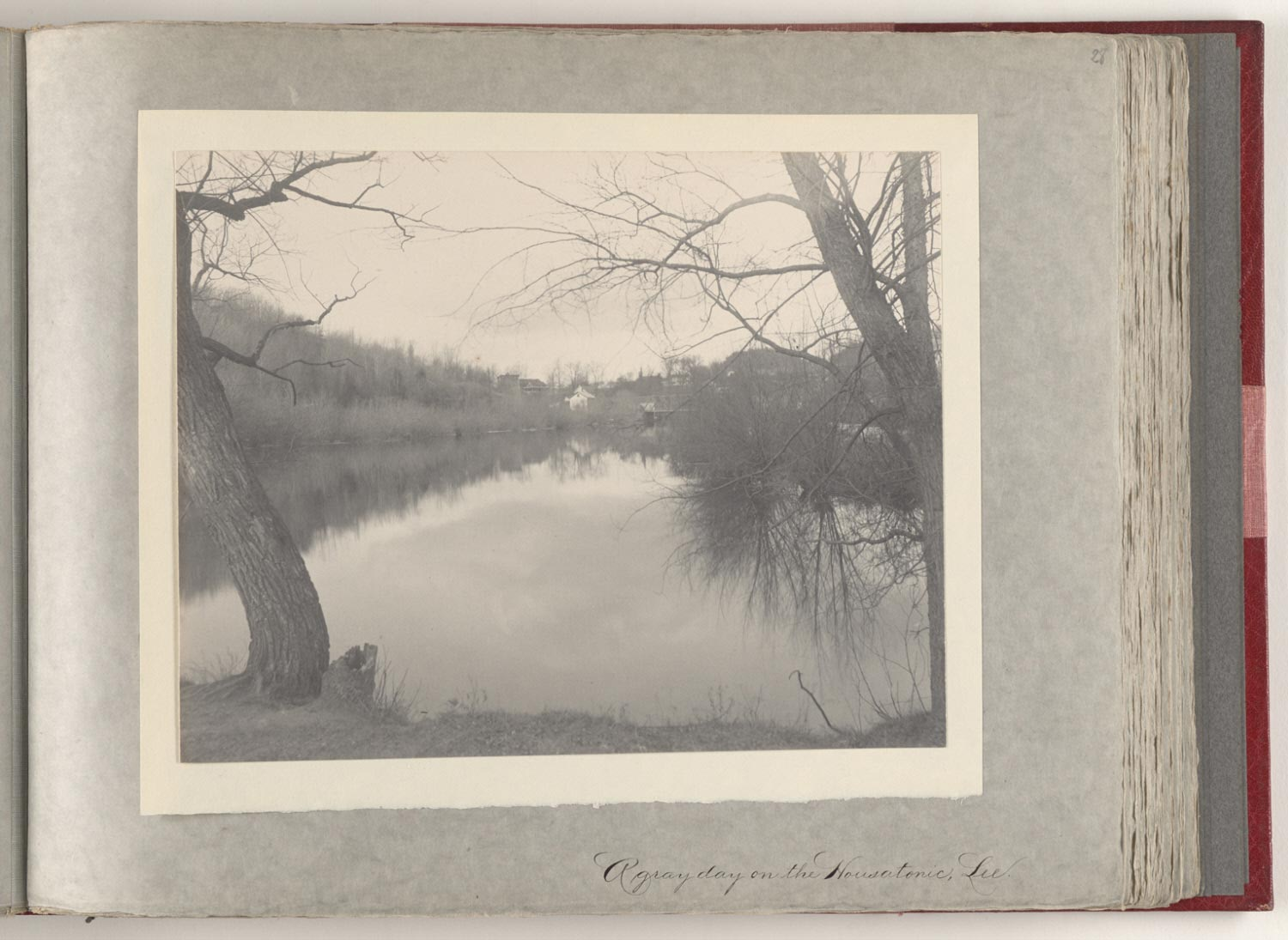 A Gray Day on the Housatonic, Lee