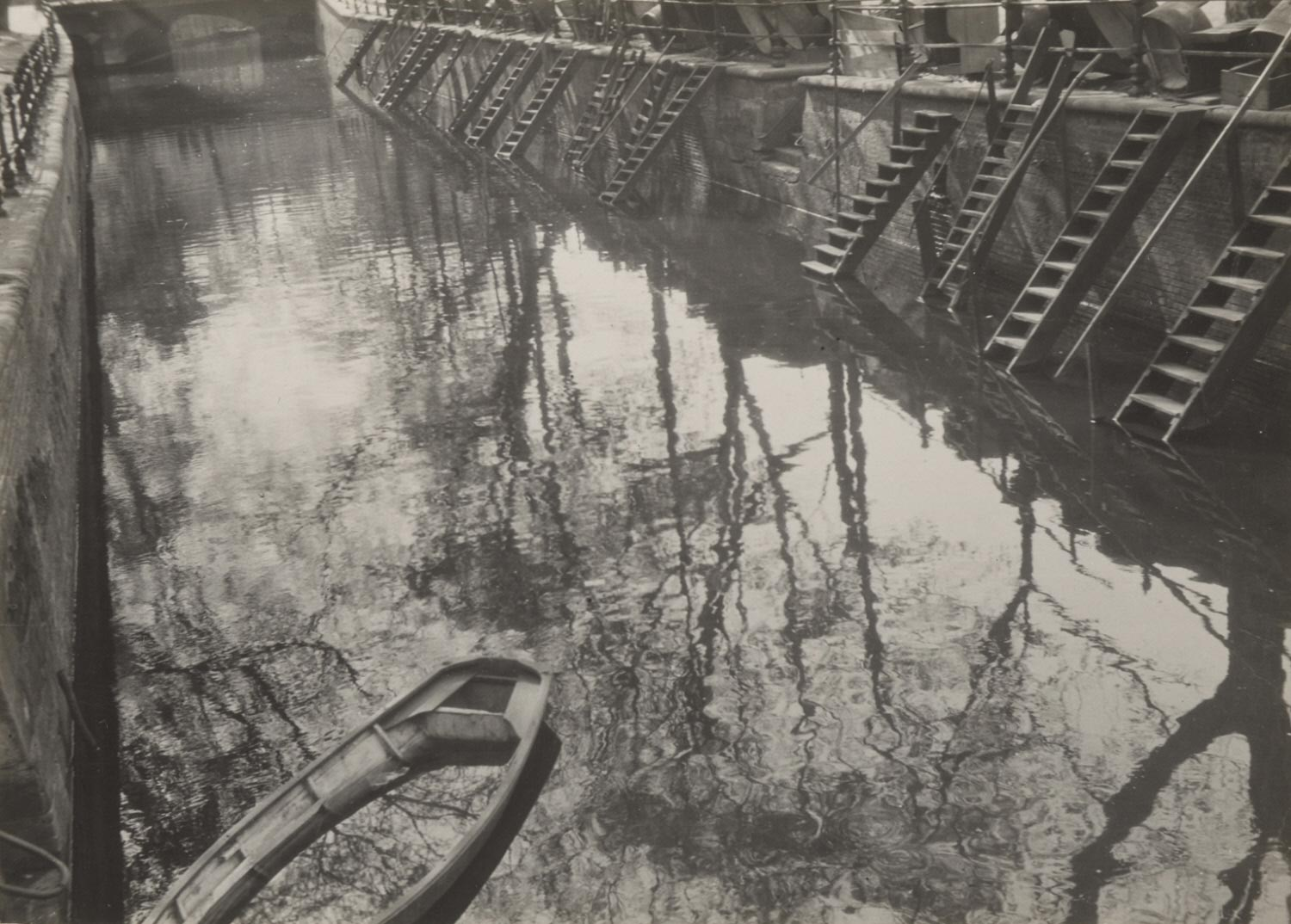 Untitled (Canal Scene)