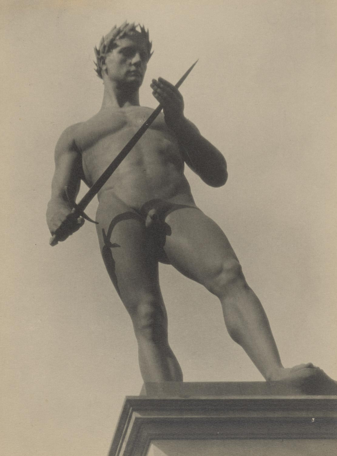 Untitled (Heroic Male Statue)