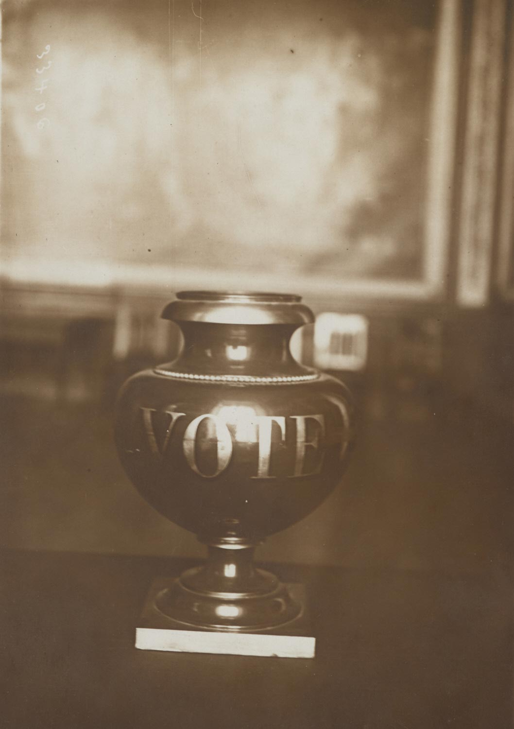 Before the Congress of Versailles: The Ballot-Urn from Which Will Emerge the Name of the Future President