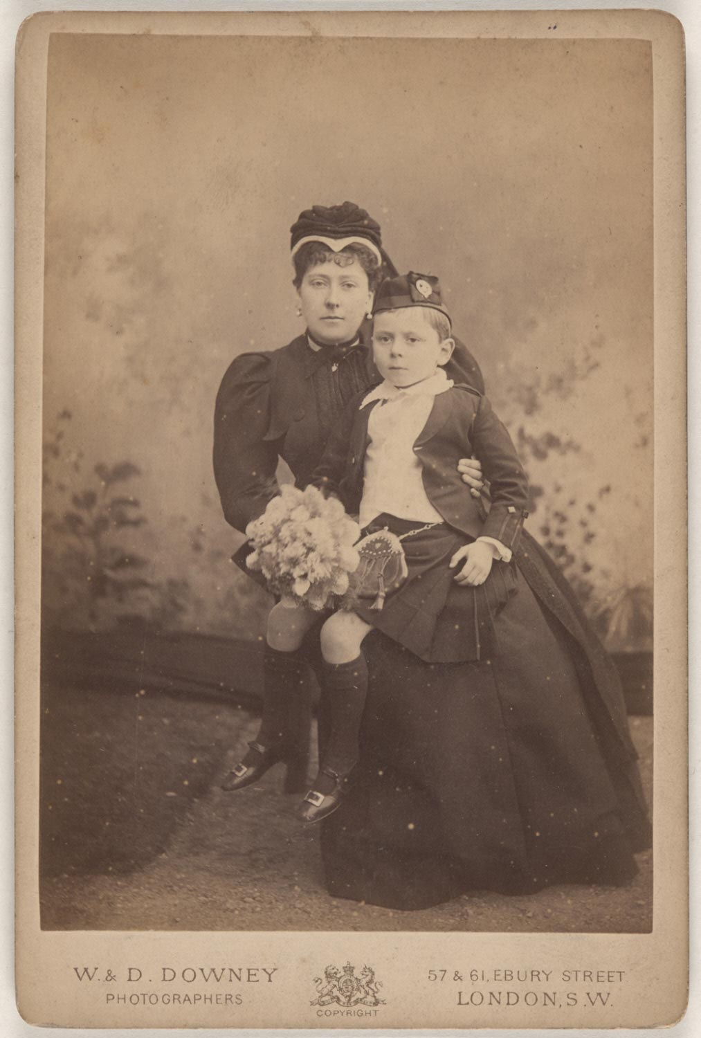 The Princess of Battenberg and Her Son